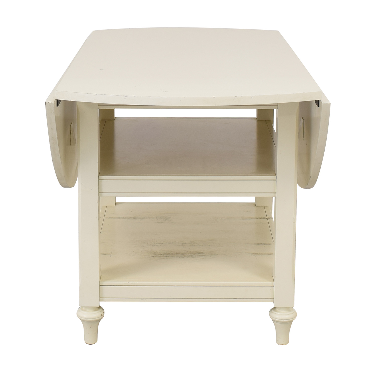 Pottery Barn Pottery Barn Shayne Drop-Leaf Table nj