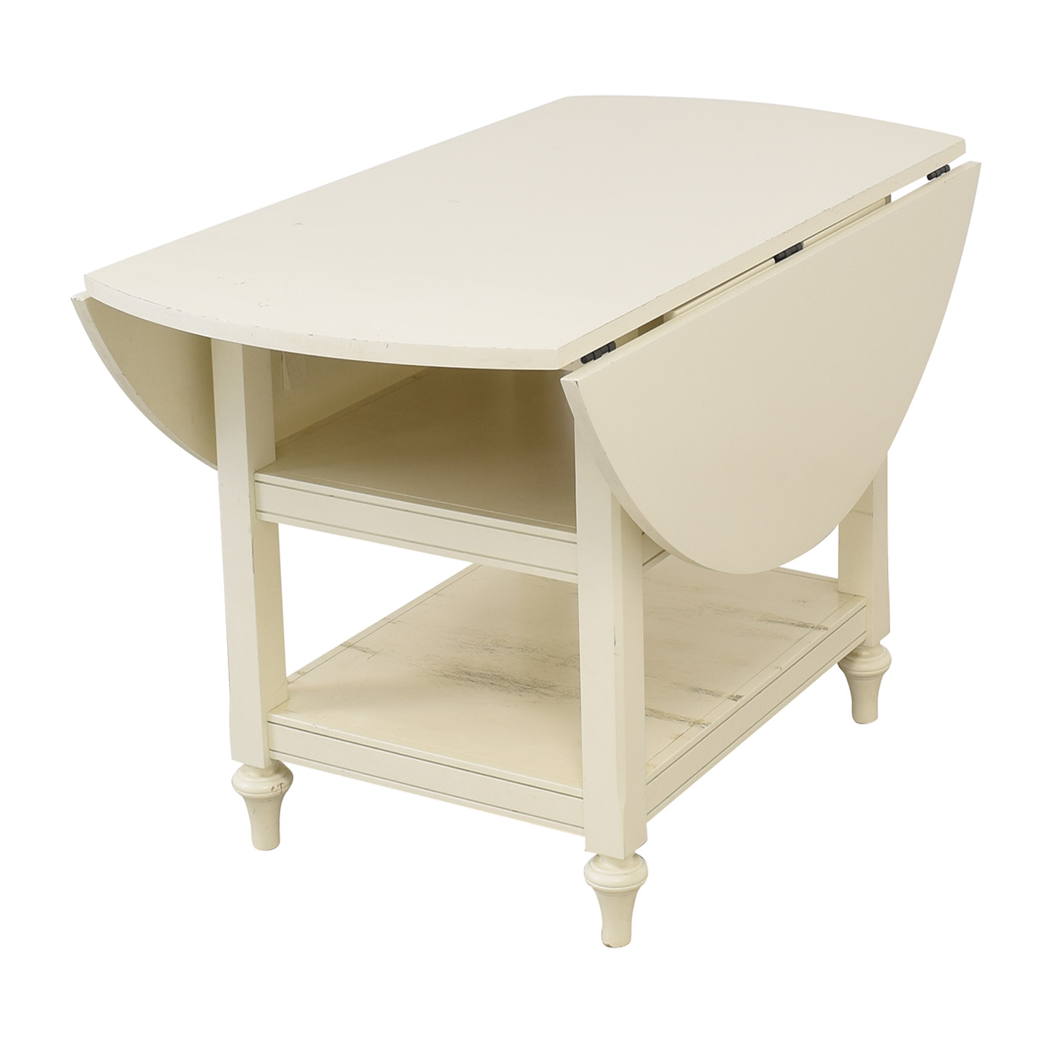 shop Pottery Barn Shayne Drop-Leaf Table Pottery Barn Tables