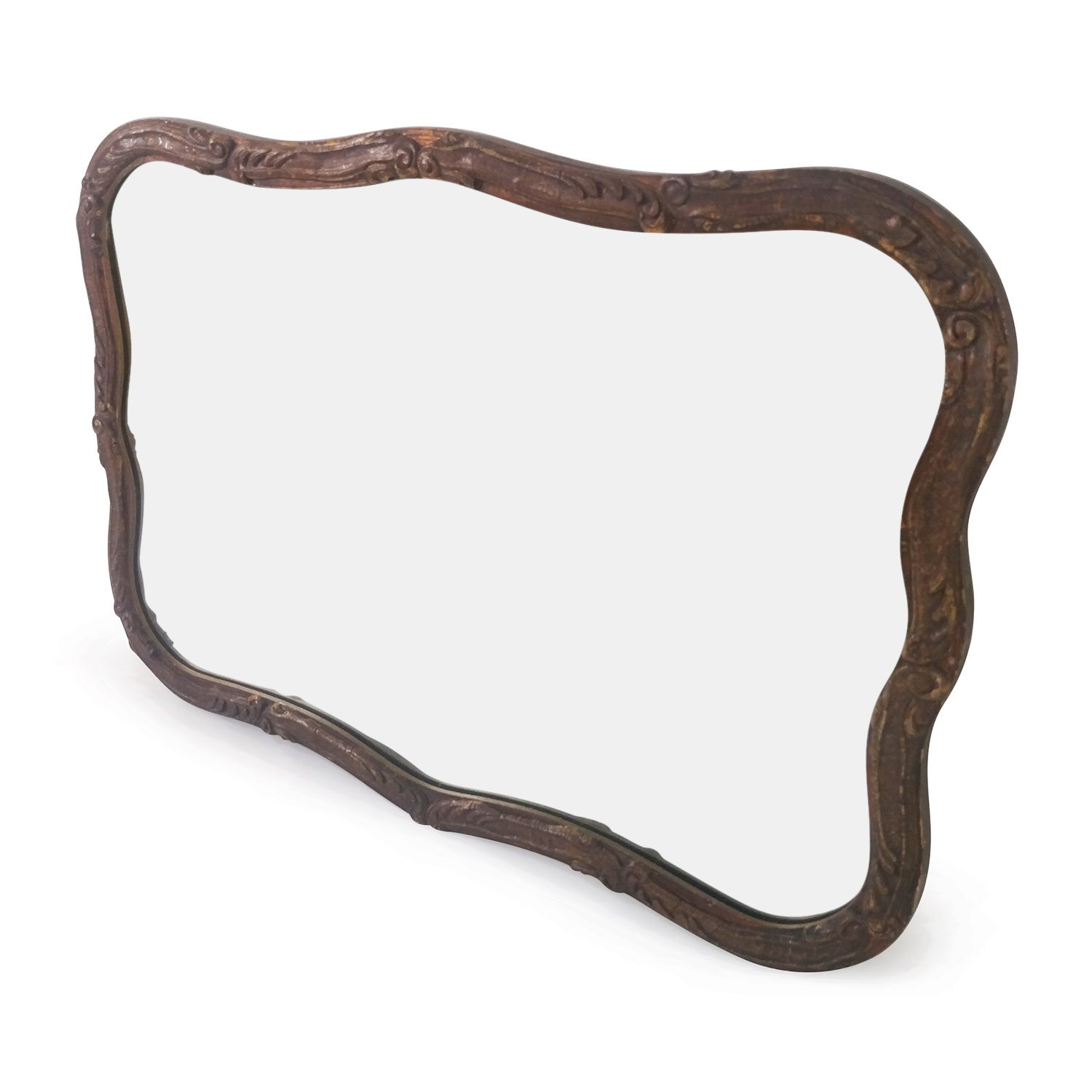 buy Classic Brown Mirror Decor