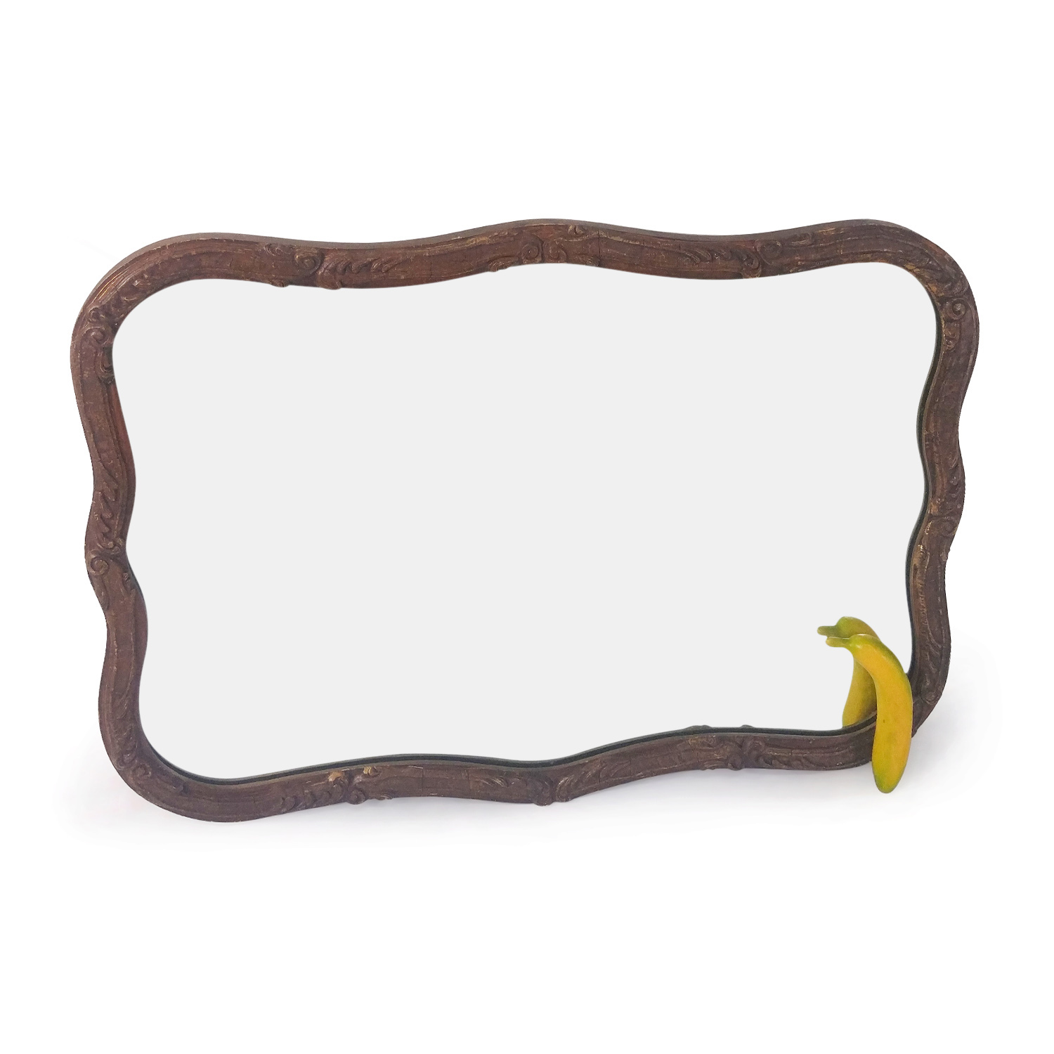 Classic Brown Mirror Decor