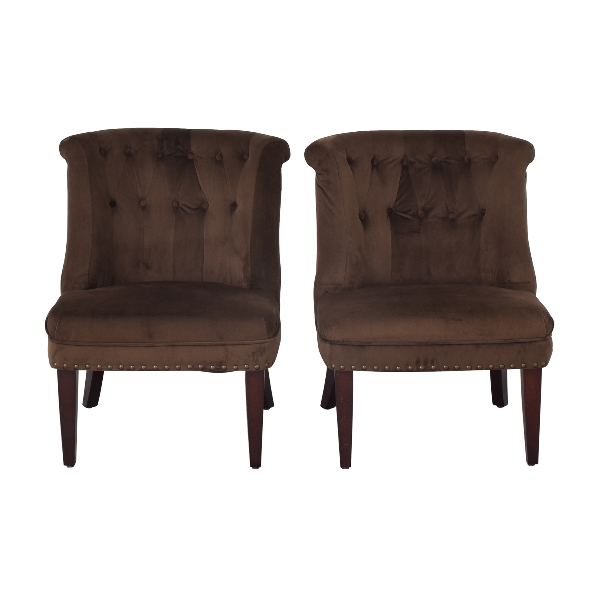 Office Star Office Star Accent Chairs dark brown