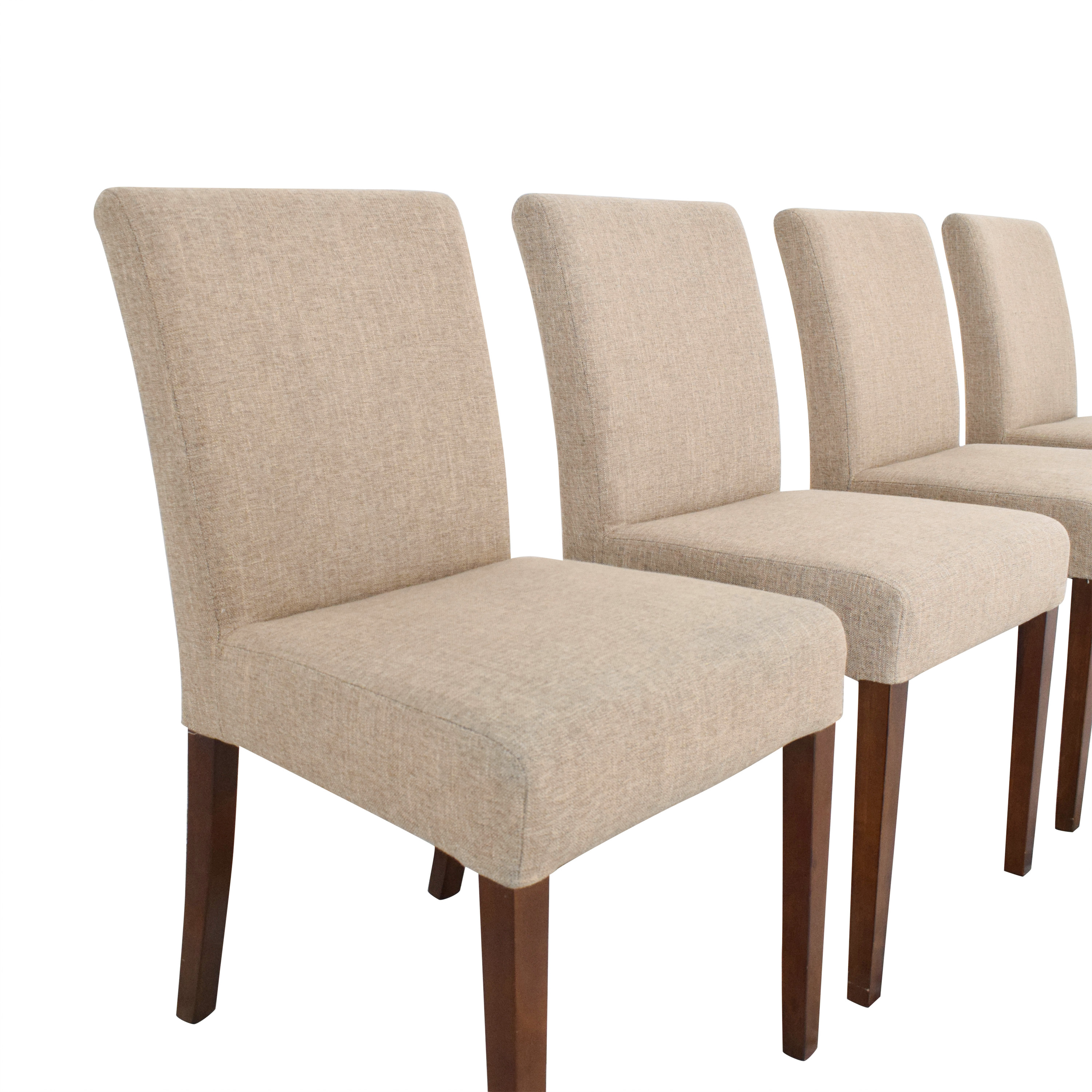shop Crate & Barrel Lowe Dining Chairs Crate & Barrel Dining Chairs