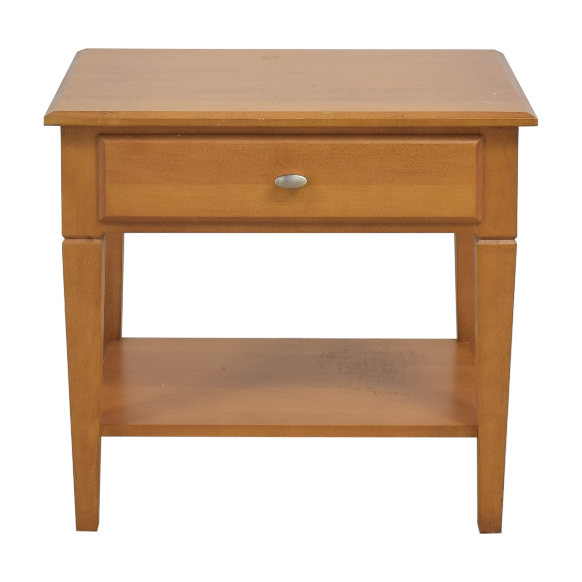 shop Ethan Allen Elements Nightstand Ethan Allen End Tables