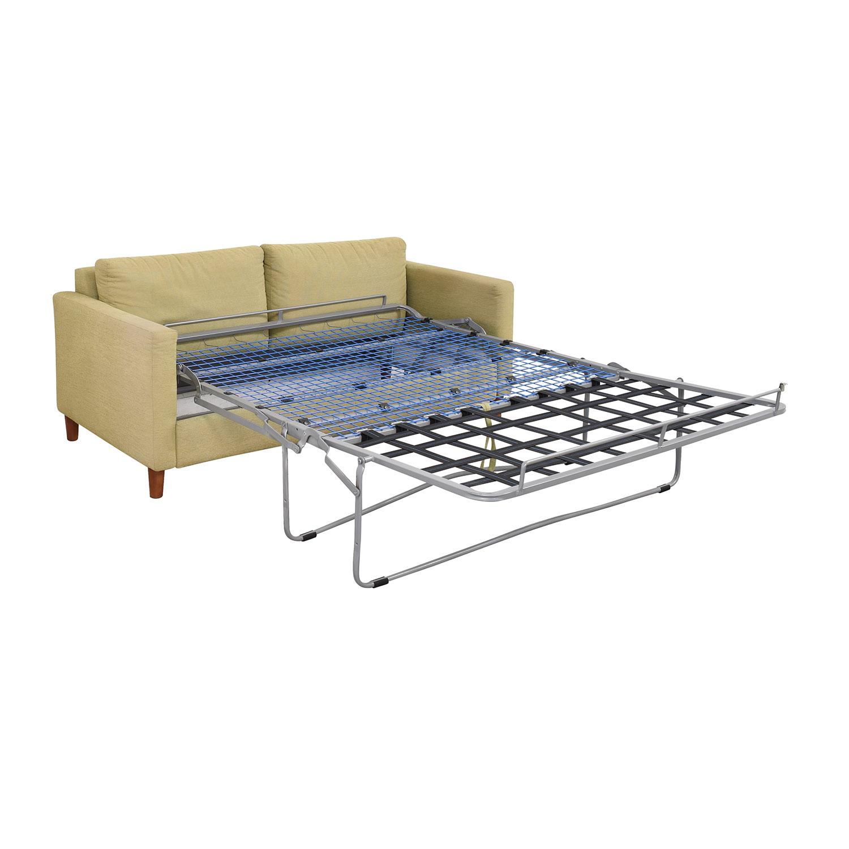 shop Bellini Two Cushion Sleeper Sofa Bellini