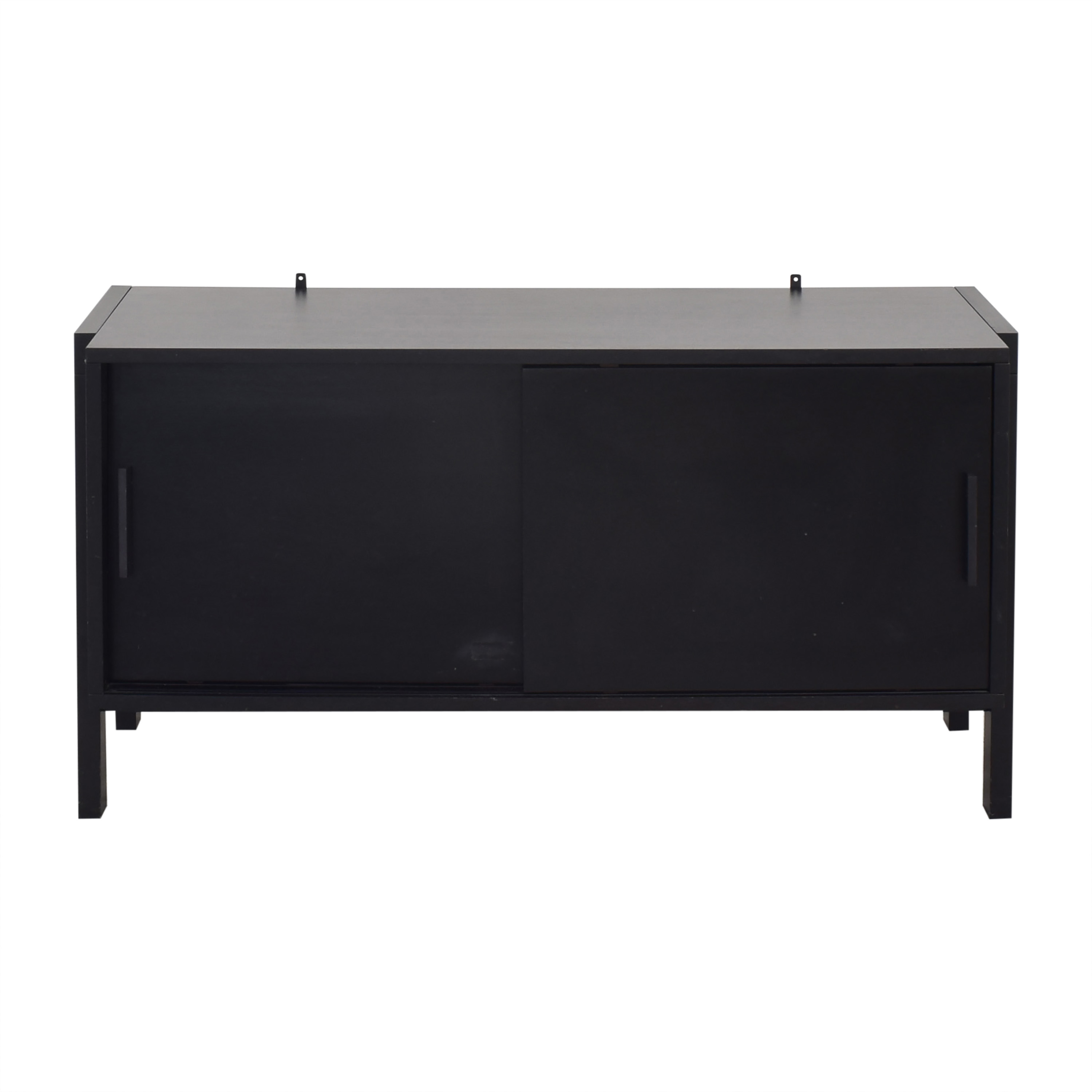 Crate & Barrel Sawyer Low Media Stand Crate & Barrel