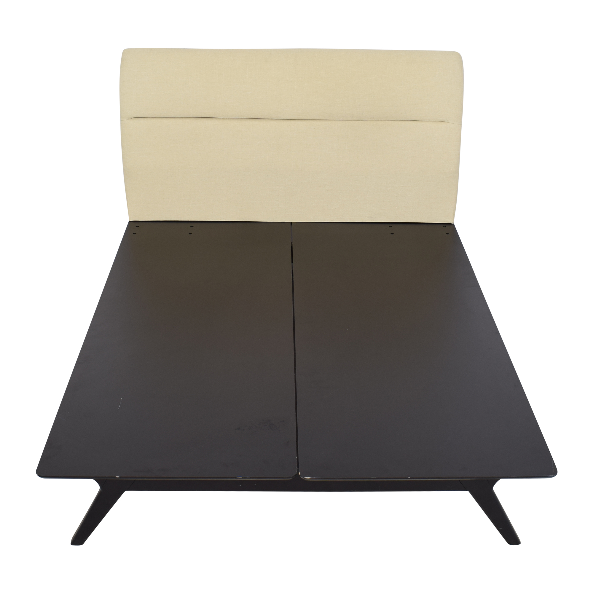 Modway Addison Mid-Century Modern Upholstered Queen Platform Bed Modway