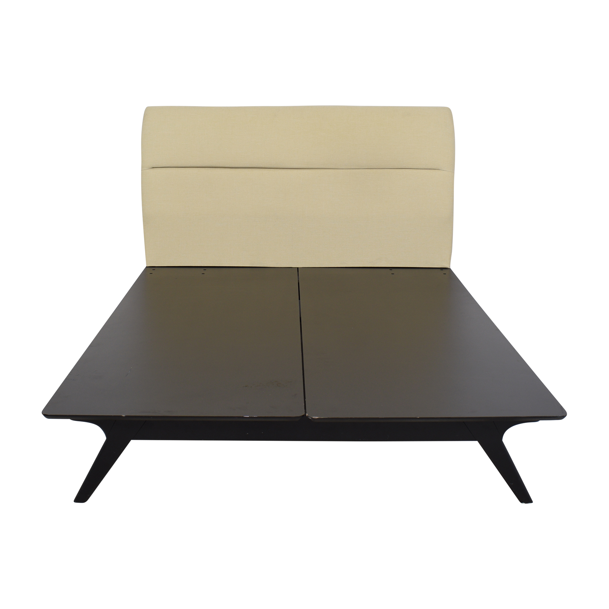 Modway Modway Addison Mid-Century Modern Upholstered Queen Platform Bed used
