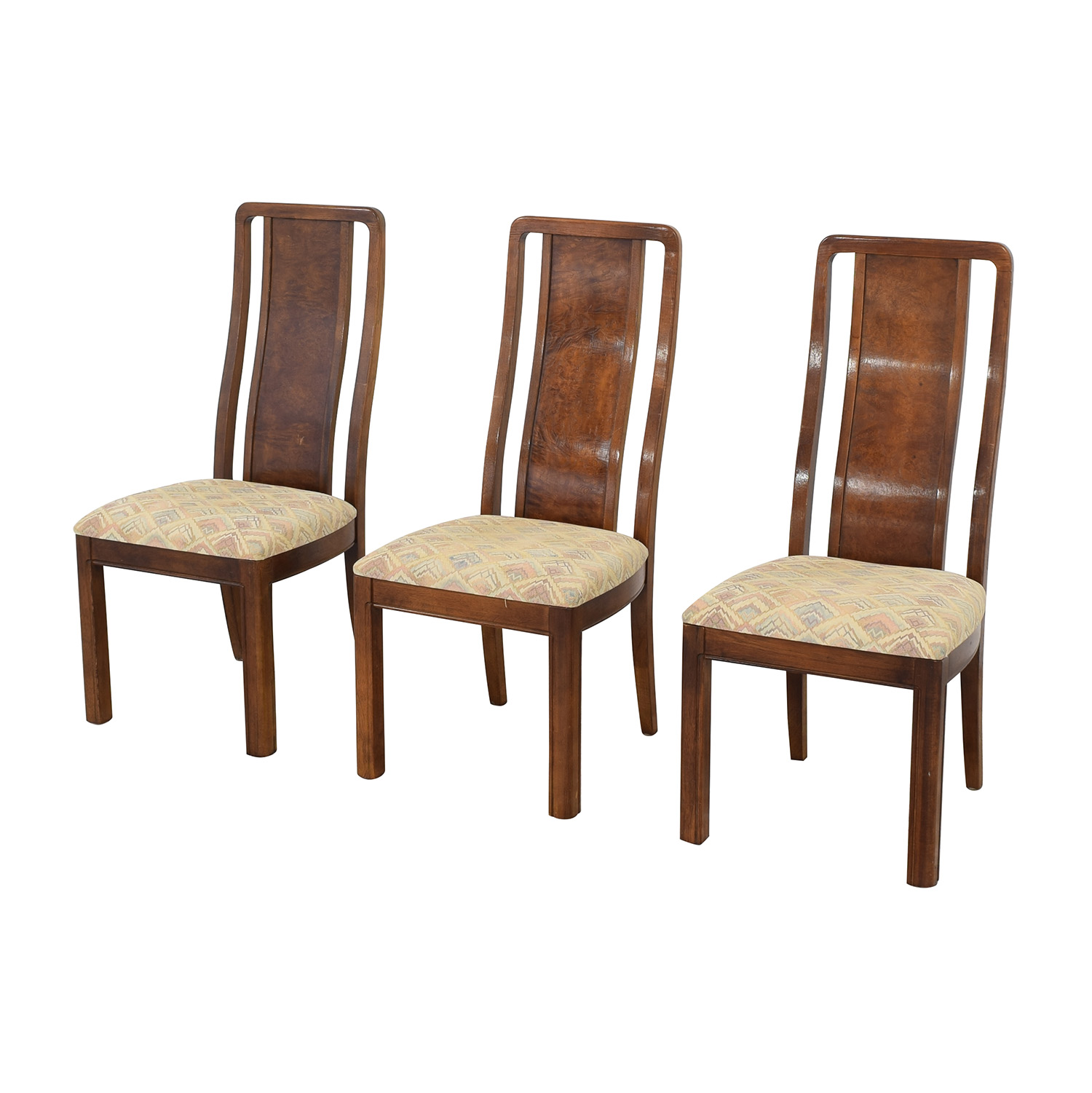 buy Thomasville Thomasville Vintage Burled Dining Chairs online