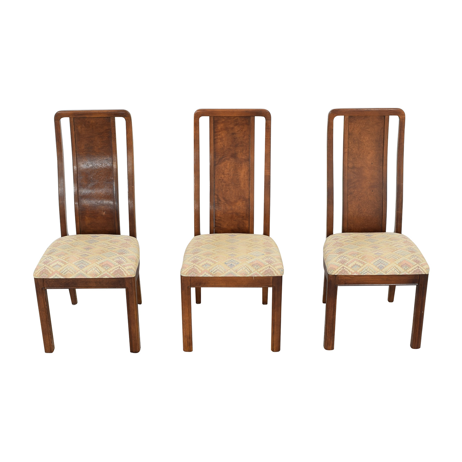 buy Thomasville Vintage Burled Dining Chairs Thomasville Dining Chairs