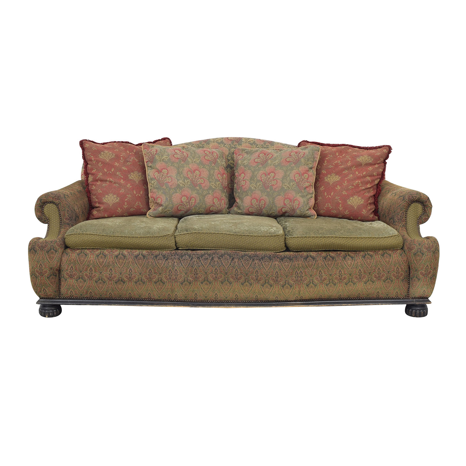 EJ Victor Carol Hicks Bolton for EJ Victor Three Cushion Sofa discount