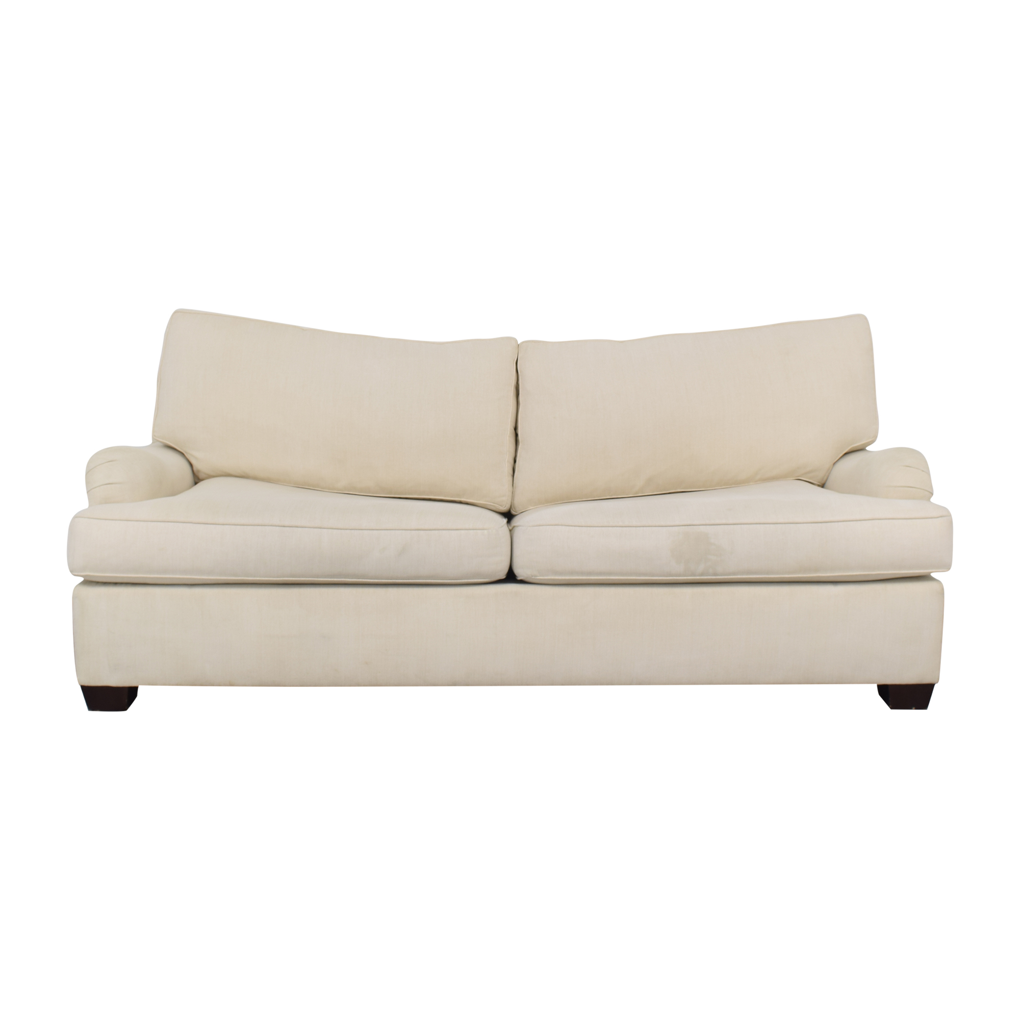 Pottery Barn English Arm Upholstered