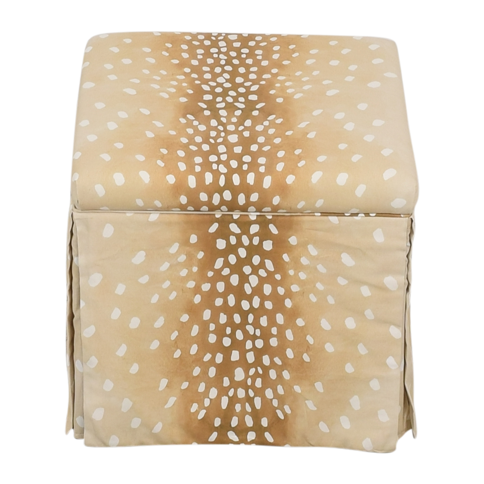 The Inside The Inside Skirted Storage Ottoman Chairs