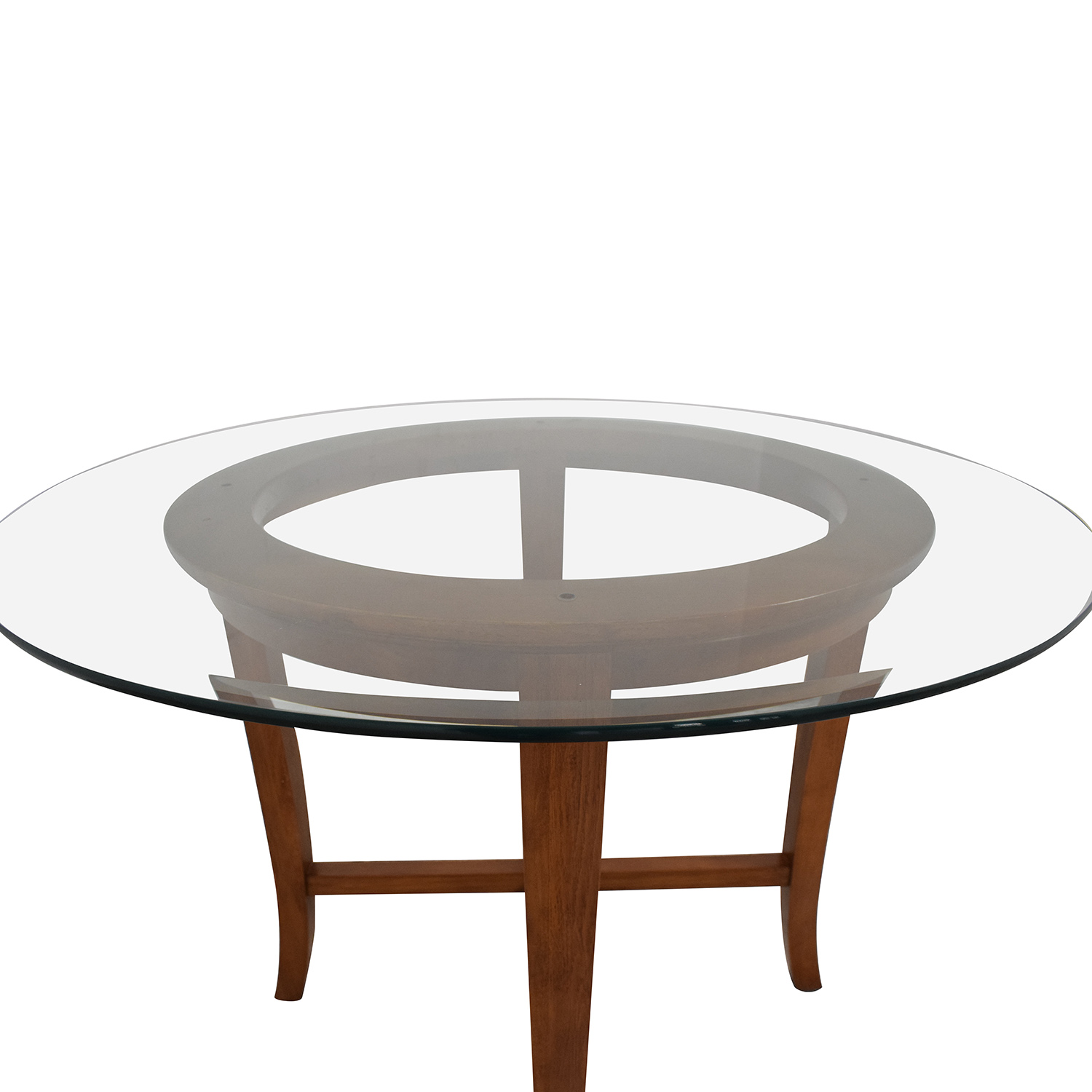 Crate & Barrel Halo Round Dining Table / Tables