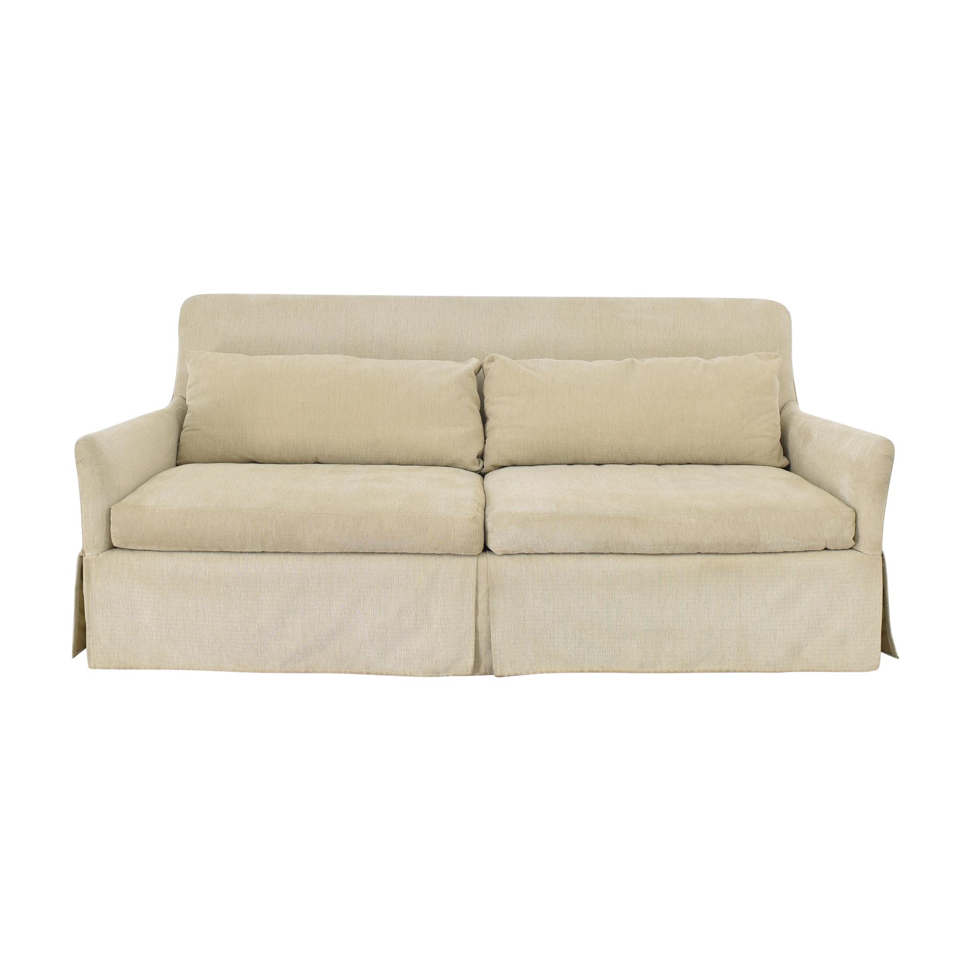 Wesley Hall Wesley Hall Skirted Sofa used