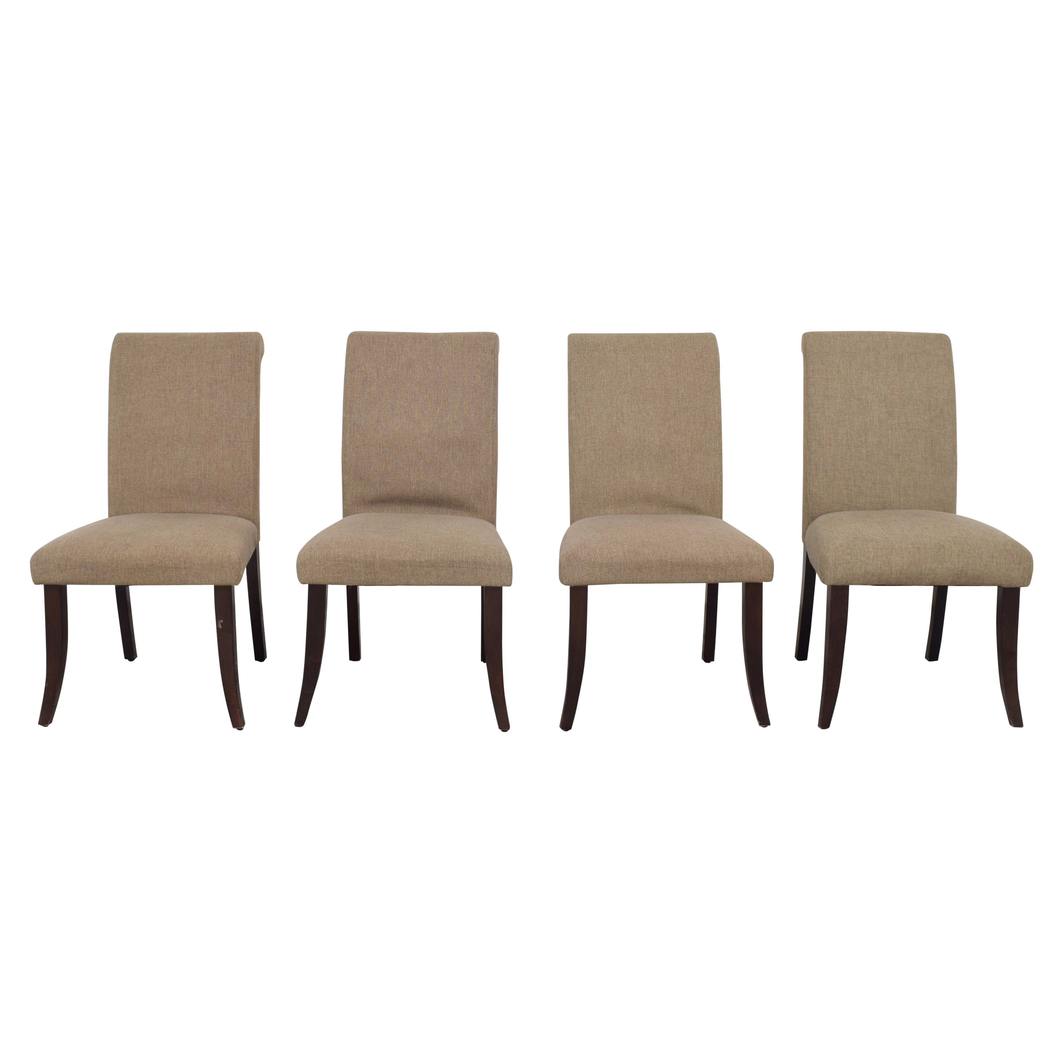 Pottery Barn Pottery Barn Comfort Roll Dining Chairs for sale