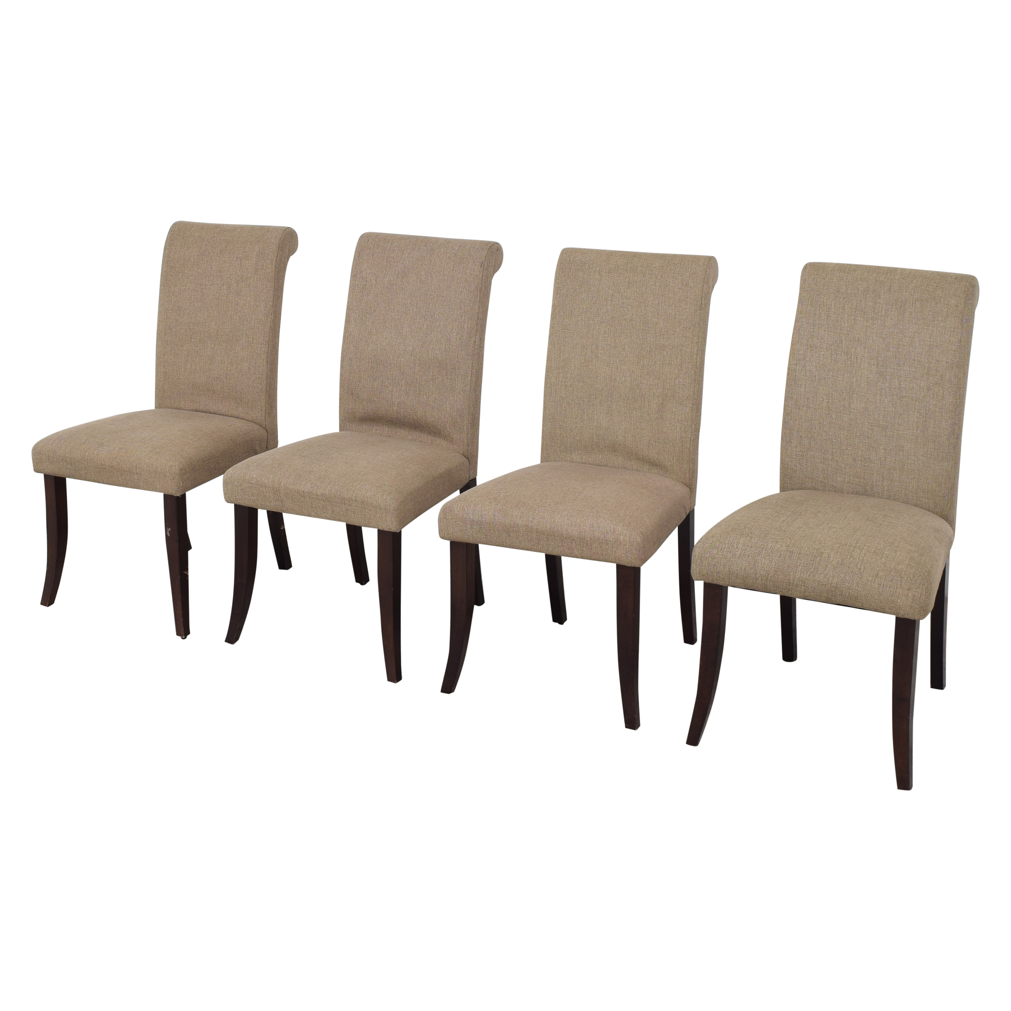 Pottery Barn Comfort Roll Dining Chairs / Dining Chairs