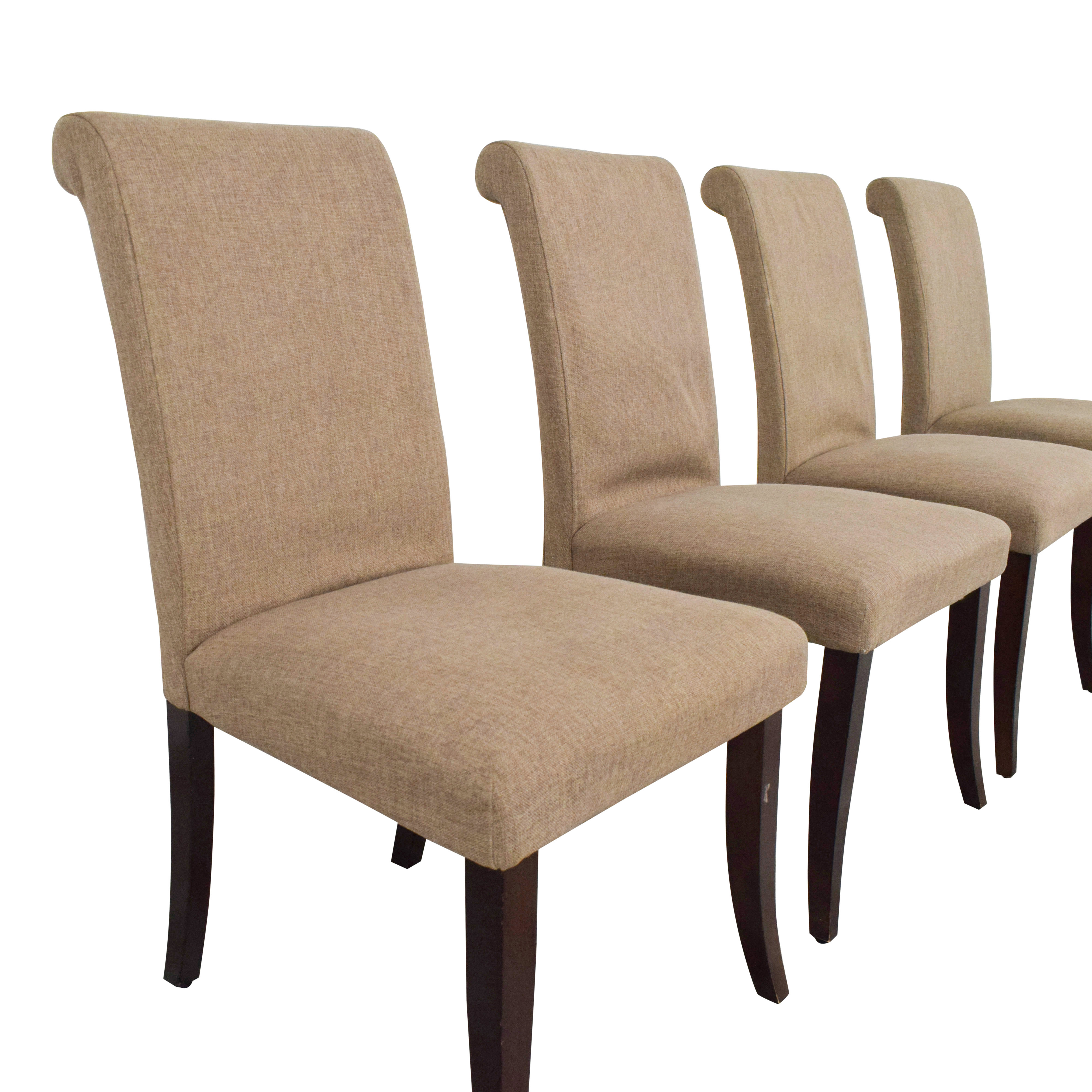 shop Pottery Barn Comfort Roll Dining Chairs Pottery Barn Chairs