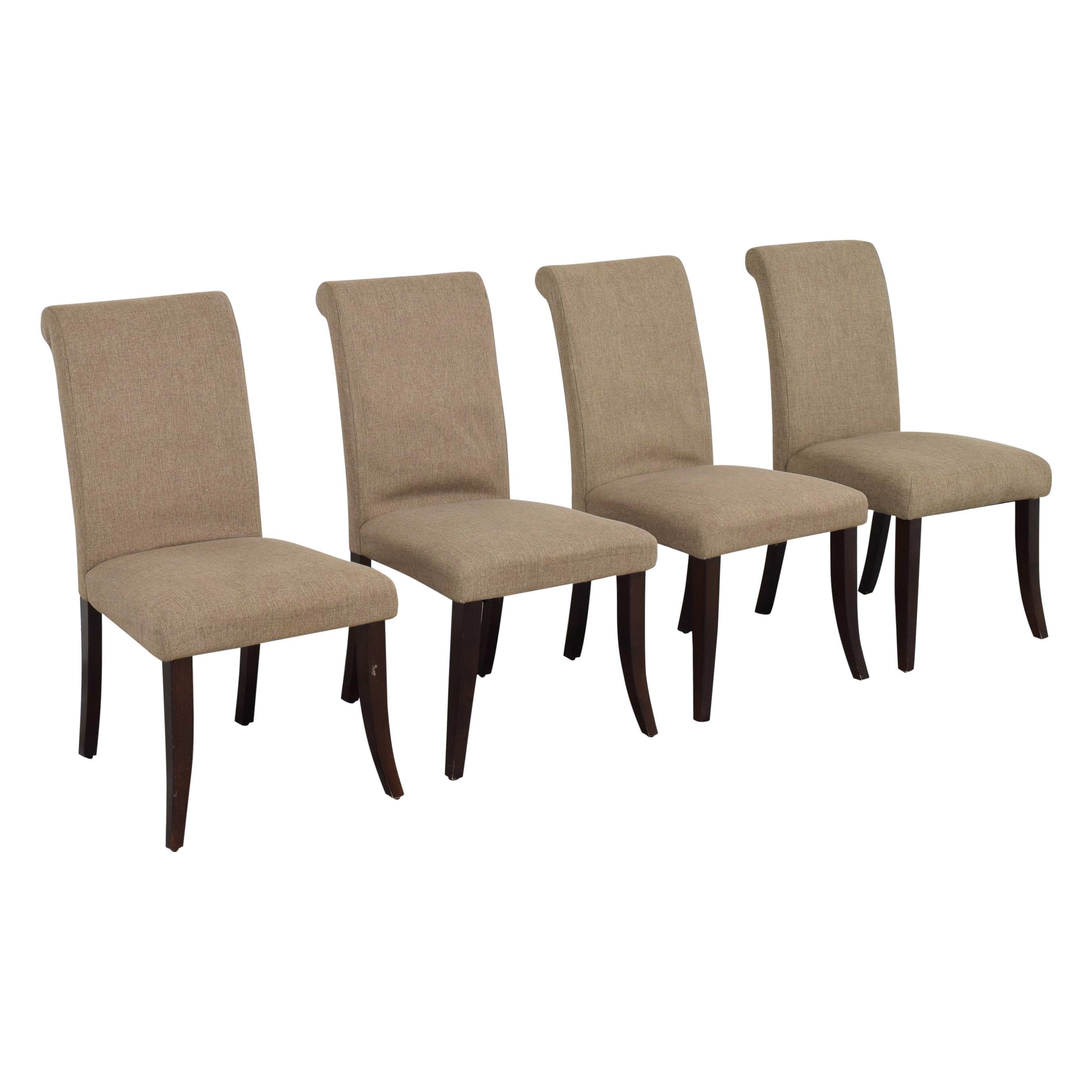 Pottery Barn Pottery Barn Comfort Roll Dining Chairs discount