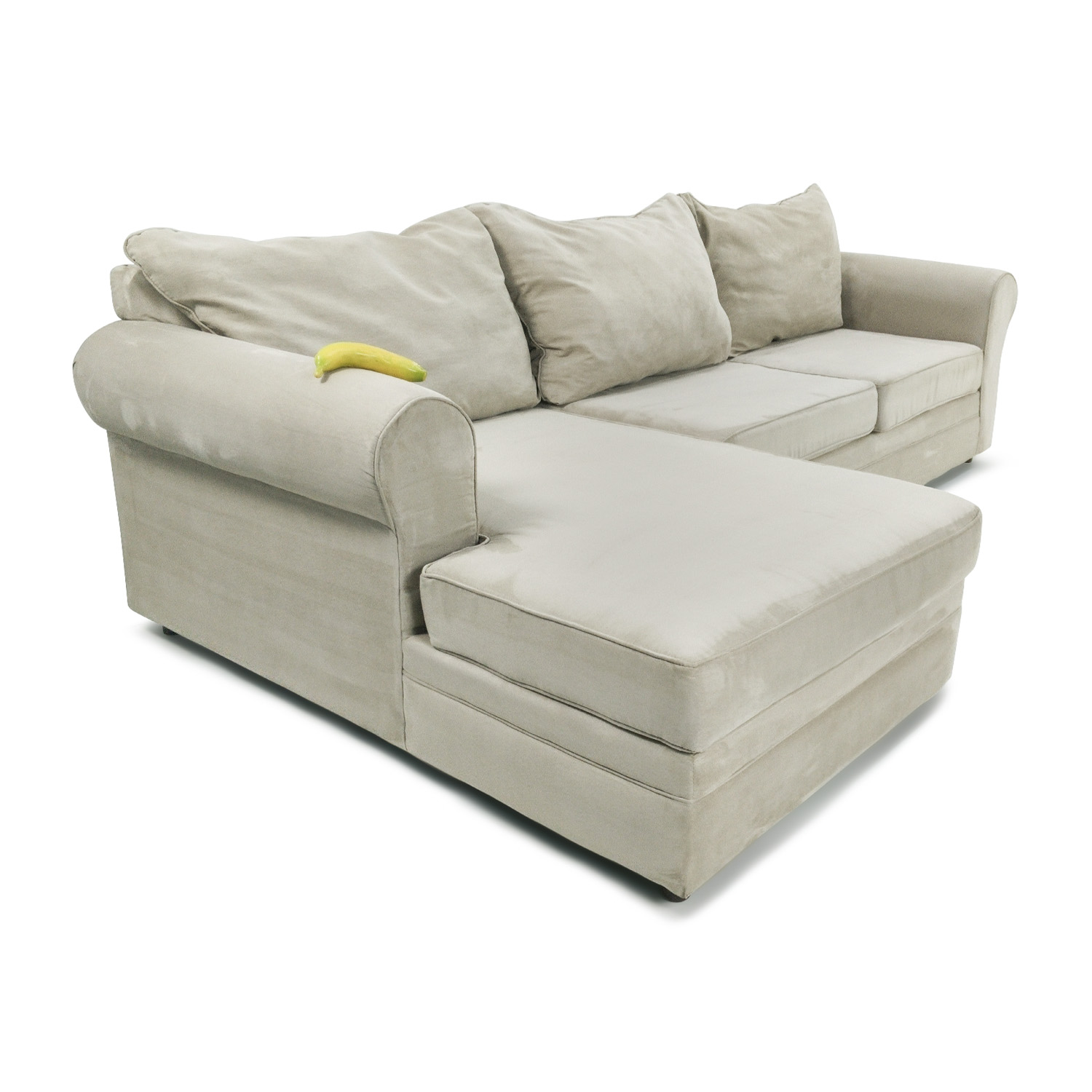 50% OFF Bobs Furniture Venus 2 Piece Sectional Sofas