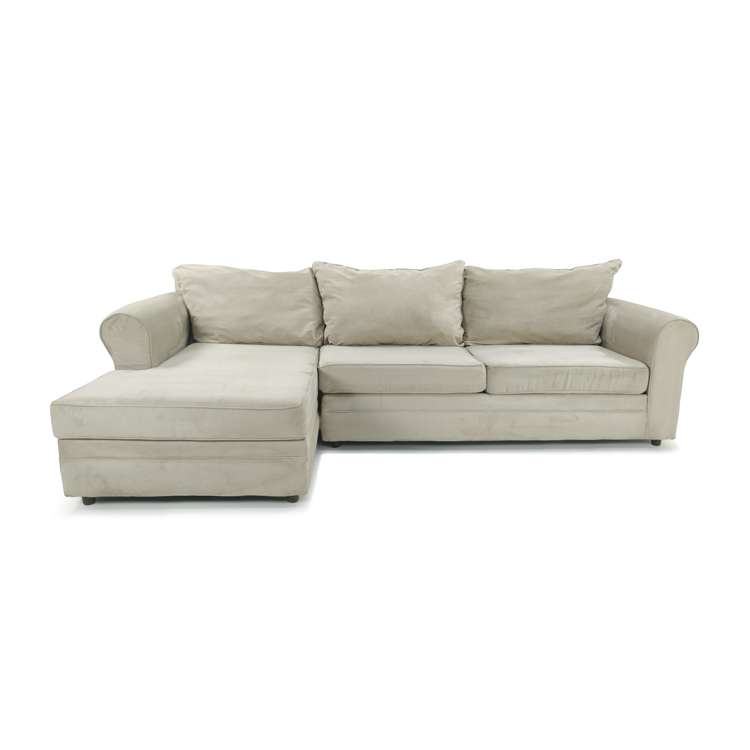 Sectional sofas bobs raymond and flanigan sofas white sofa for Playpen sectional sofa bobs