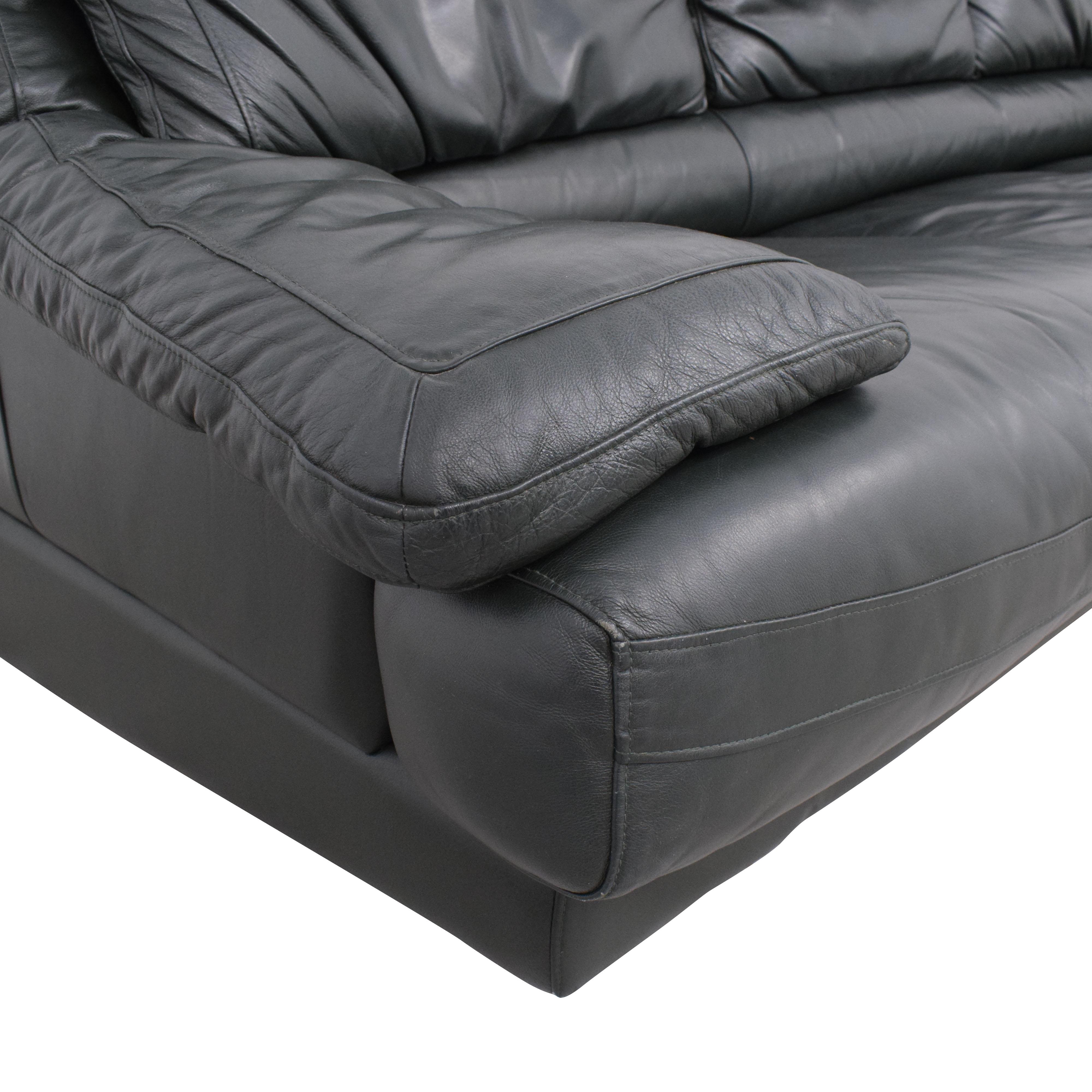 buy Natuzzi Padded Arm Sofa Natuzzi