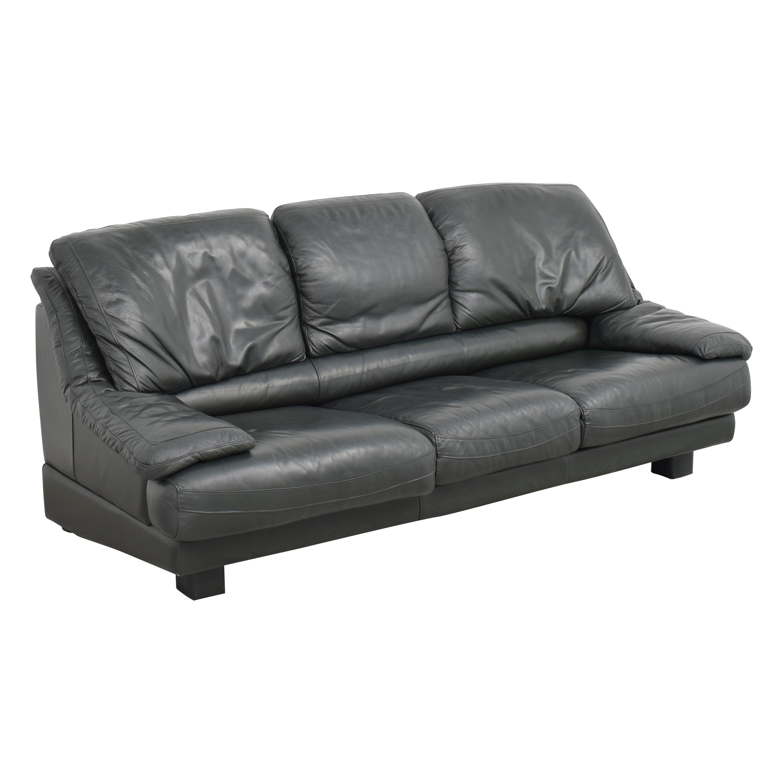 Natuzzi Natuzzi Padded Arm Sofa discount