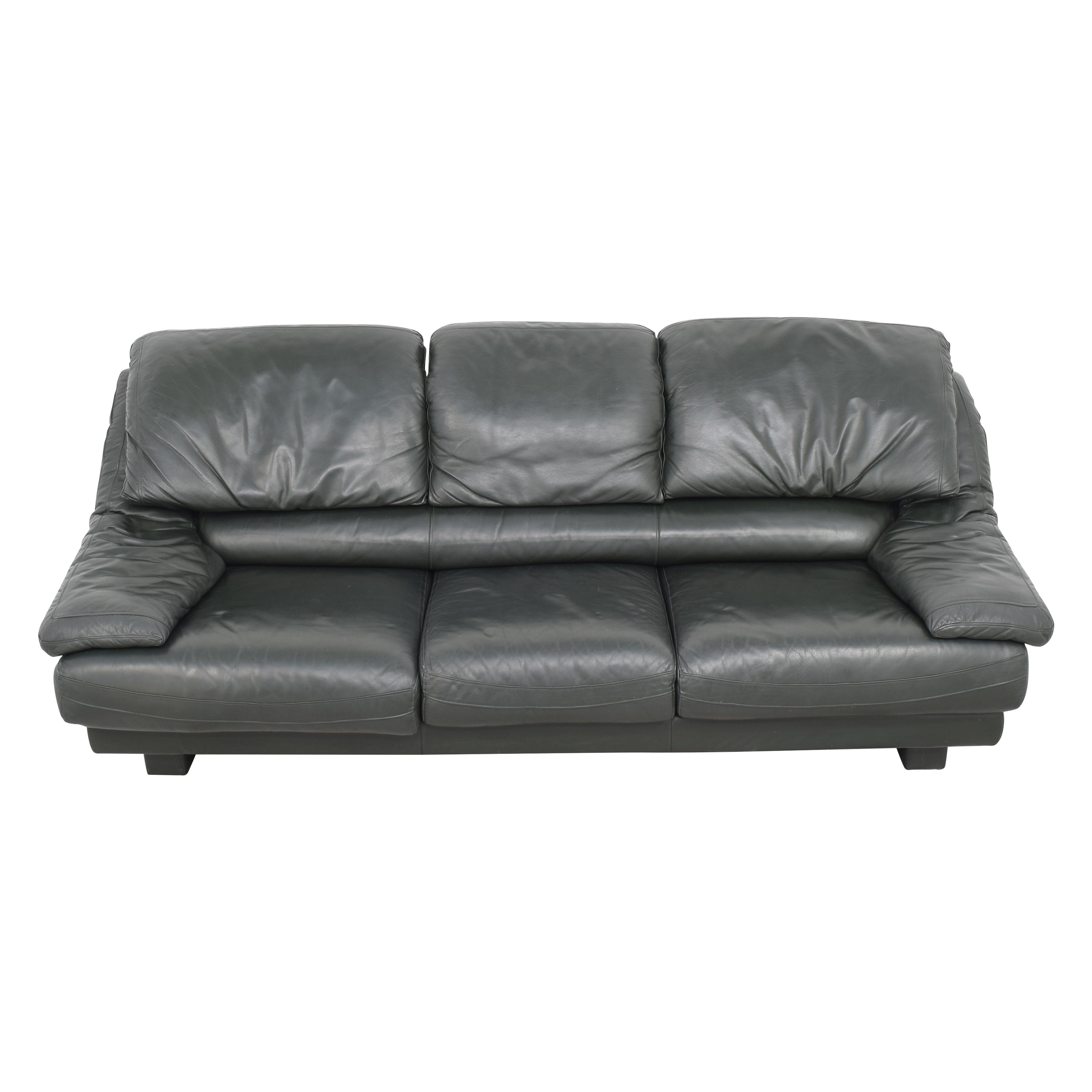 Natuzzi Natuzzi Padded Arm Sofa nyc