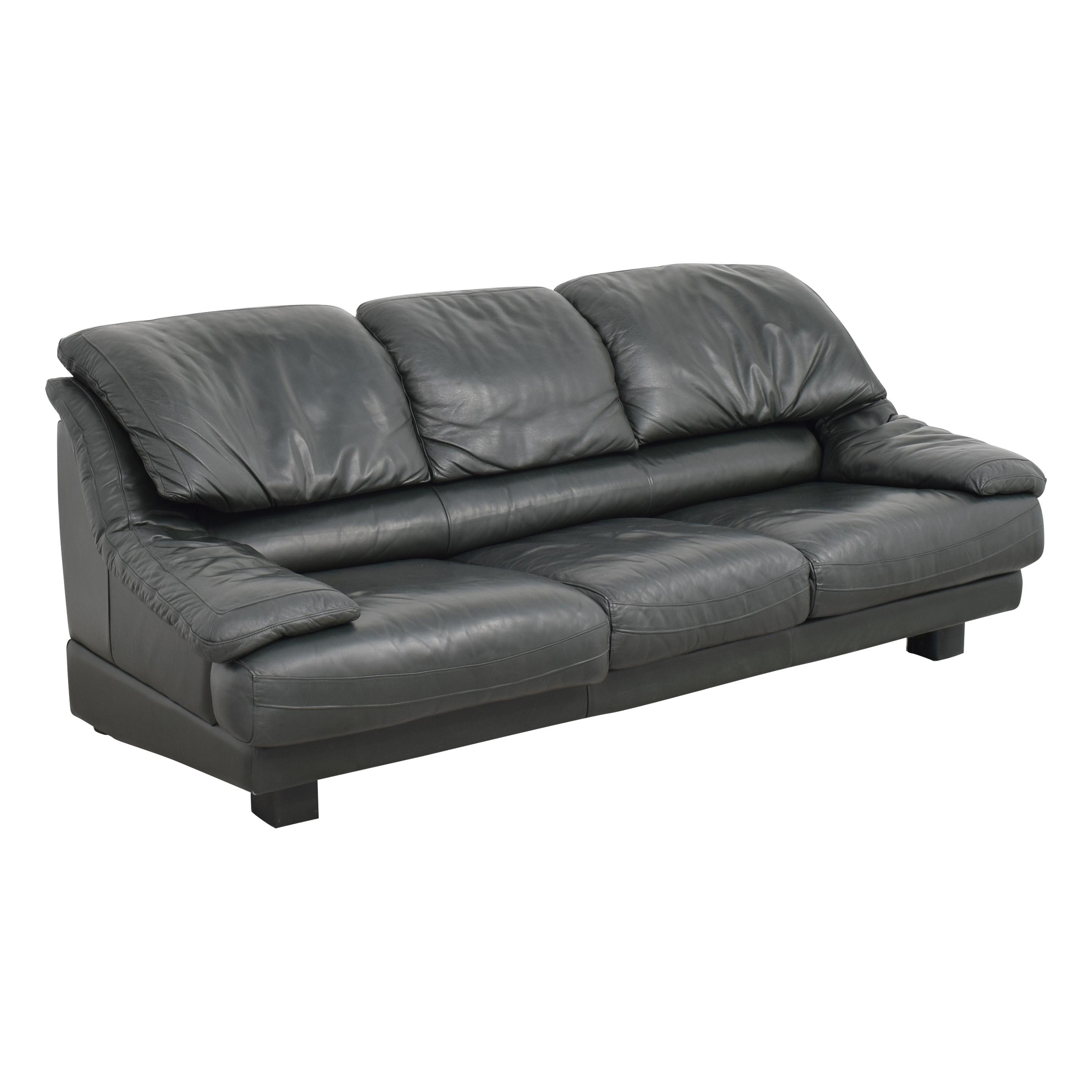 Natuzzi Natuzzi Padded Arm Sofa ma