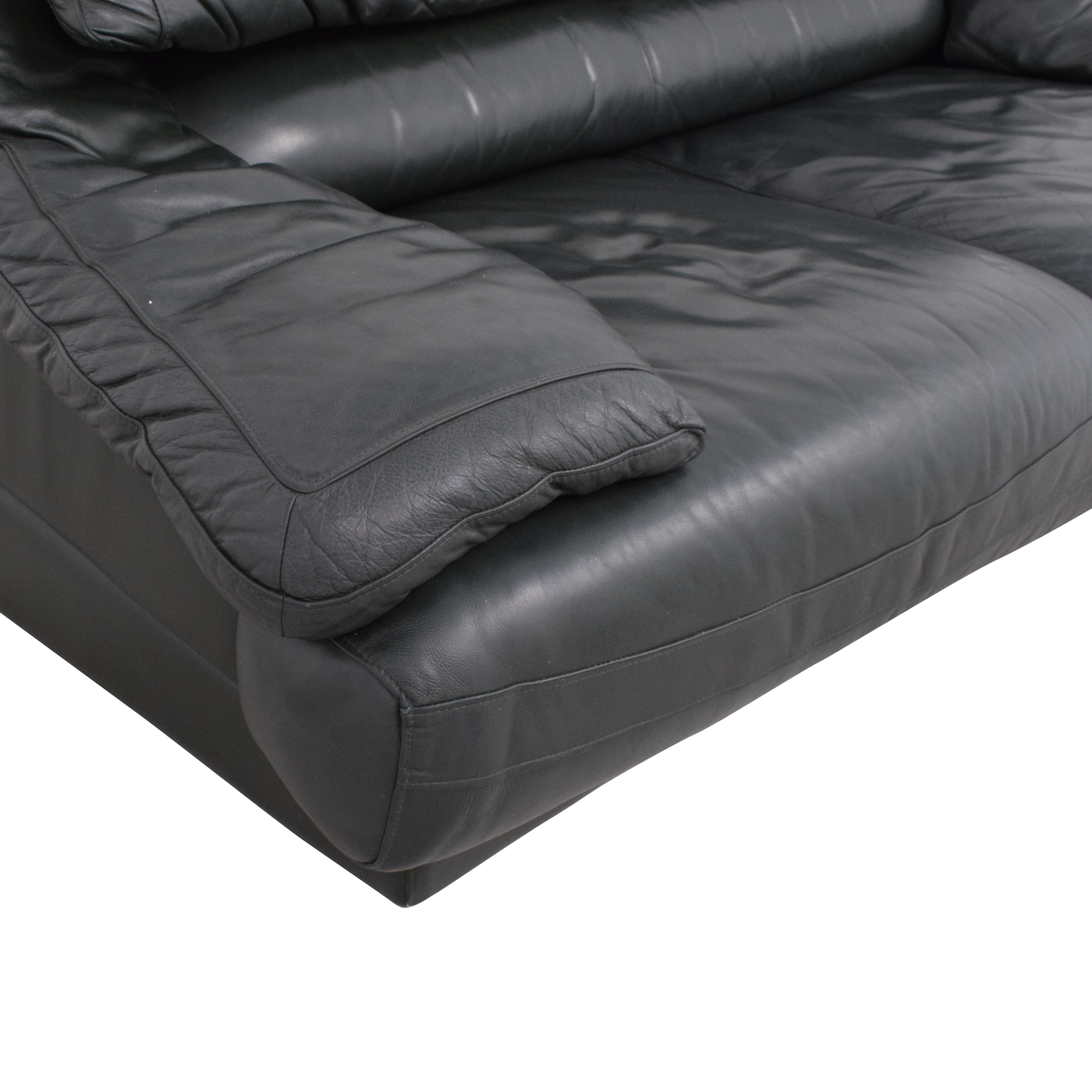 Natuzzi Natuzzi Padded Arm Loveseat coupon