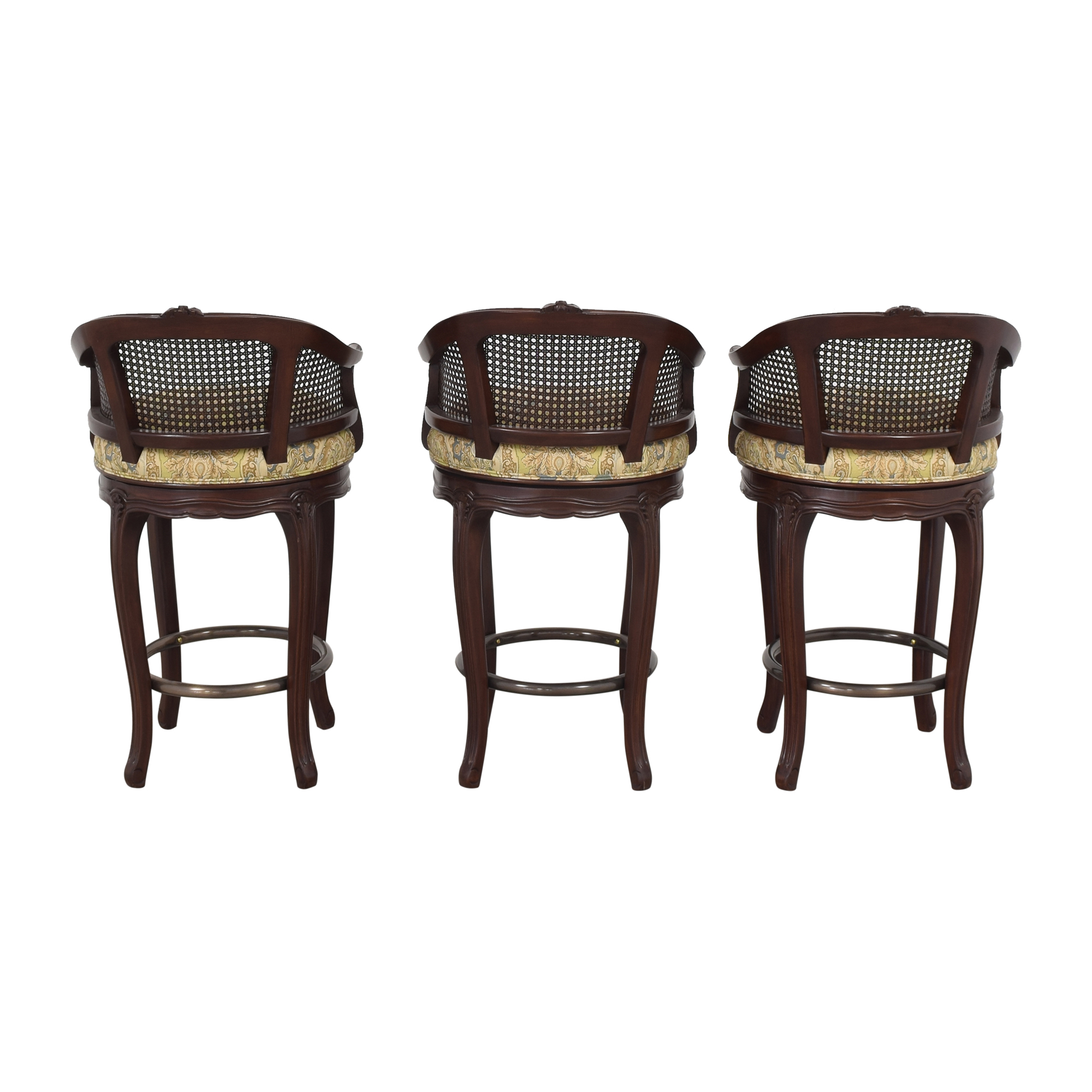 Louis J. Solomon Louis XV Style Counter Stools / Chairs