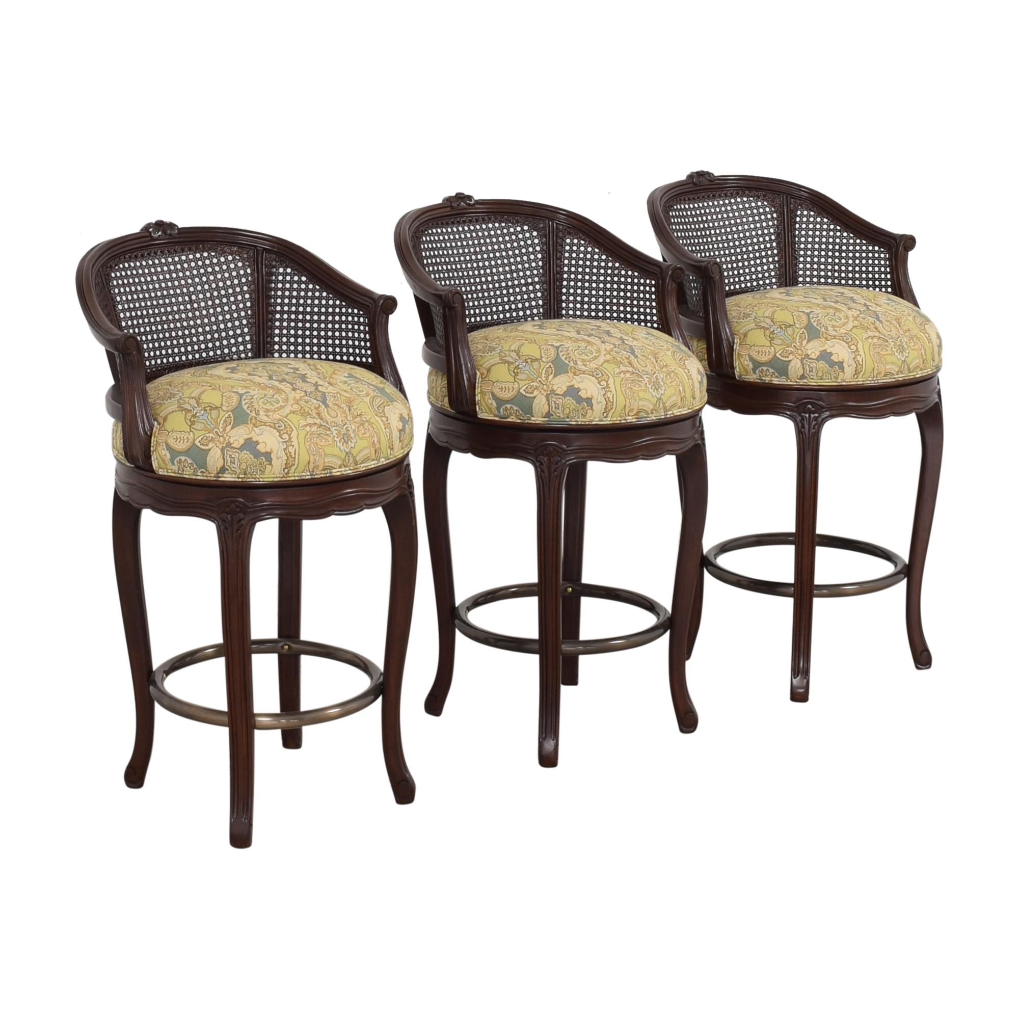 Louis J. Solomon Louis J. Solomon Louis XV Style Counter Stools Chairs