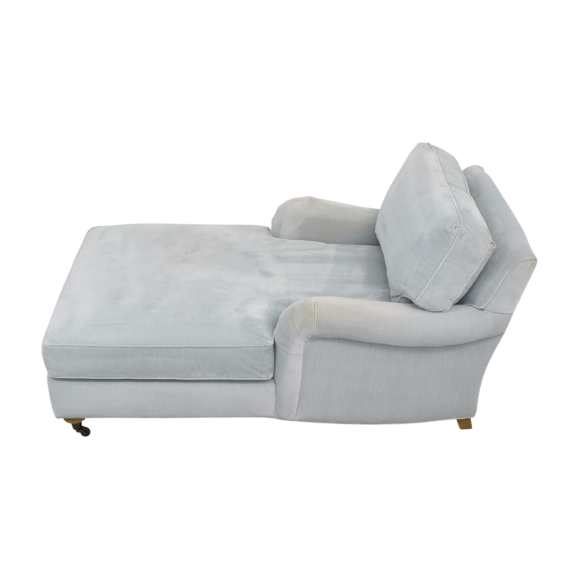 Restoration Hardware Restoration Hardware English Roll Arm Chaise dimensions