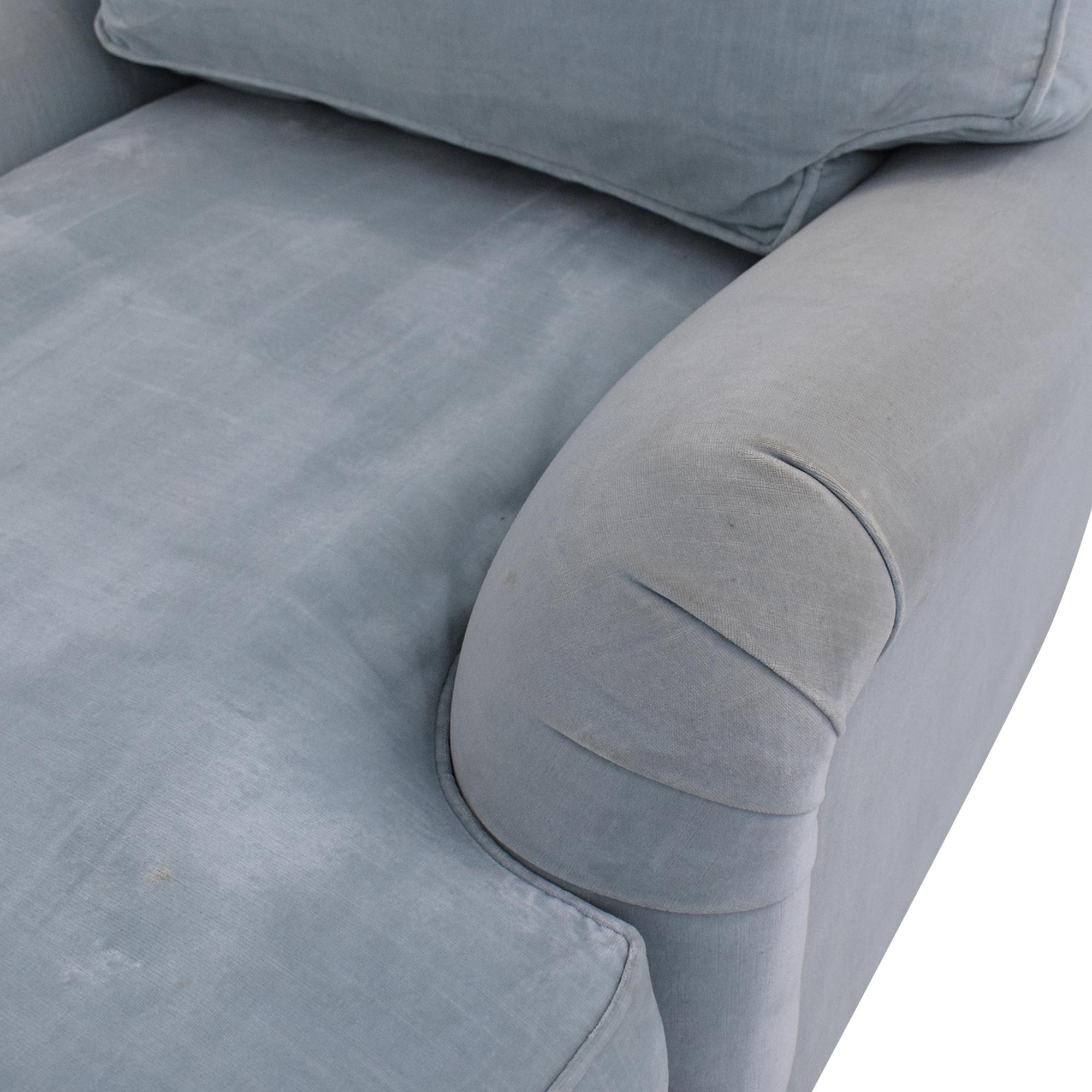 Restoration Hardware Restoration Hardware English Roll Arm Chaise Sofas