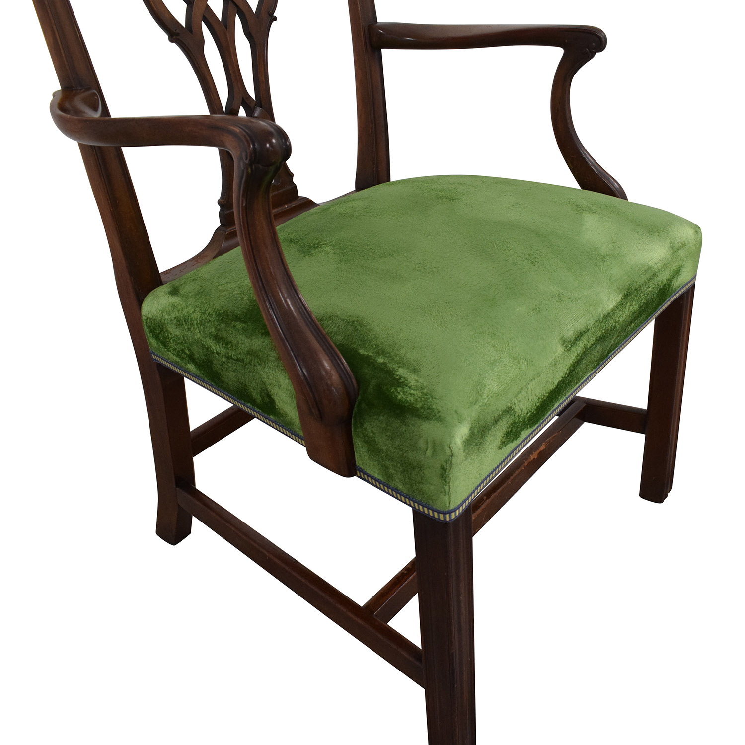 Chippendale Style Dining Arm Chair ma