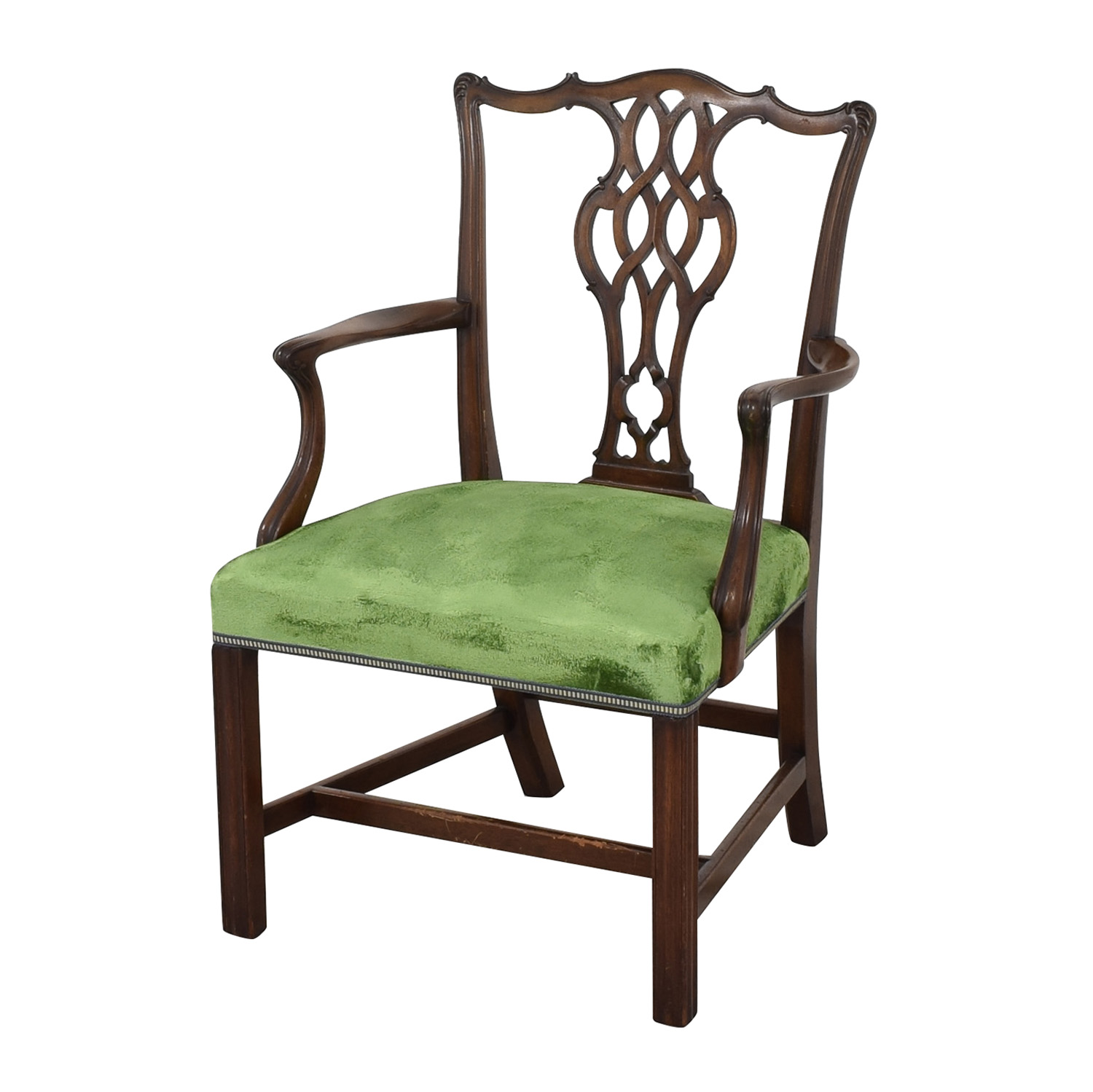 Chippendale Style Dining Arm Chair nyc