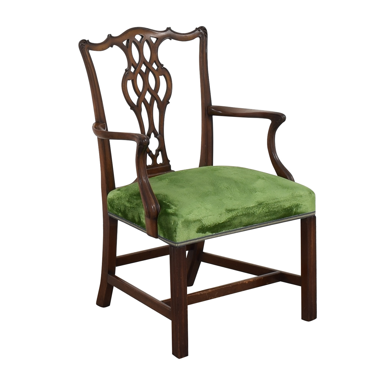 Chippendale Style Dining Arm Chair ct