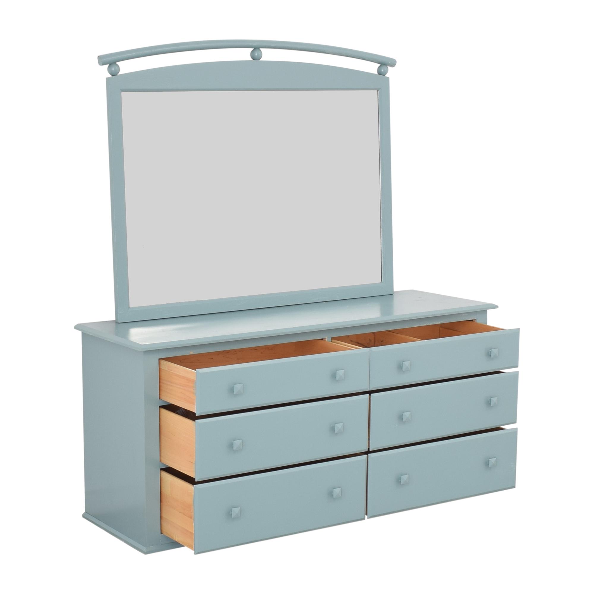 Ethan Allen Ethan Allen American Dimensions Dresser with Mirror dimensions