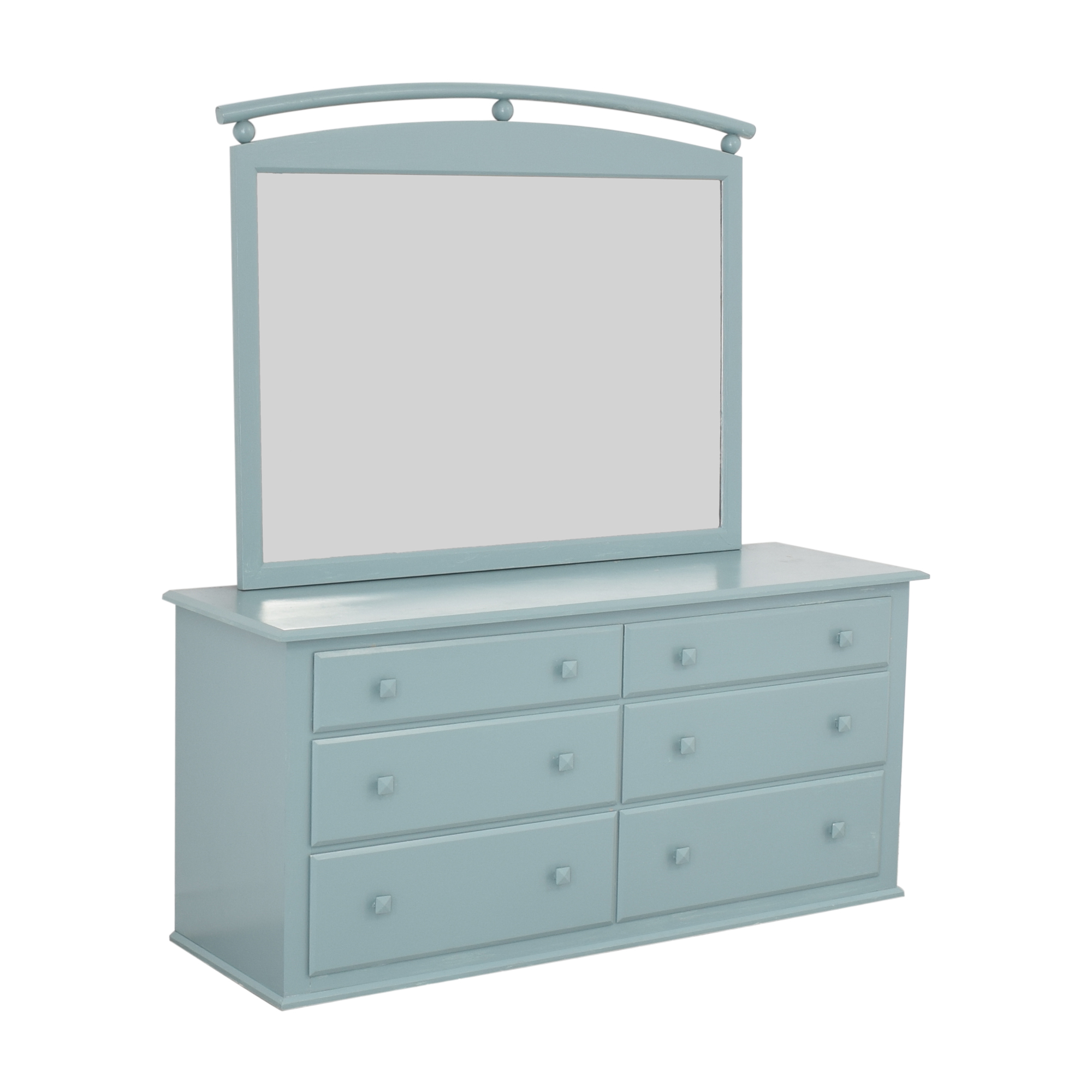 Ethan Allen Ethan Allen American Dimensions Dresser with Mirror nj