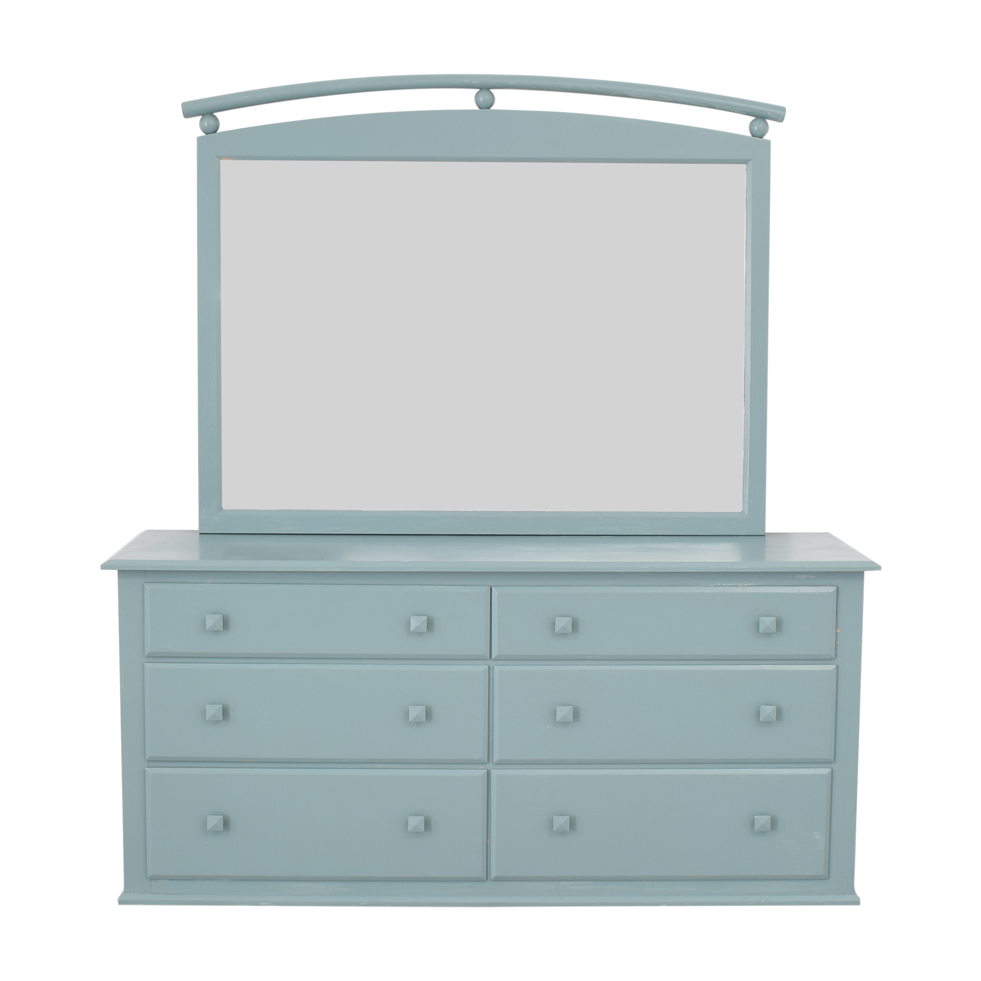 Ethan Allen American Dimensions Dresser with Mirror sale