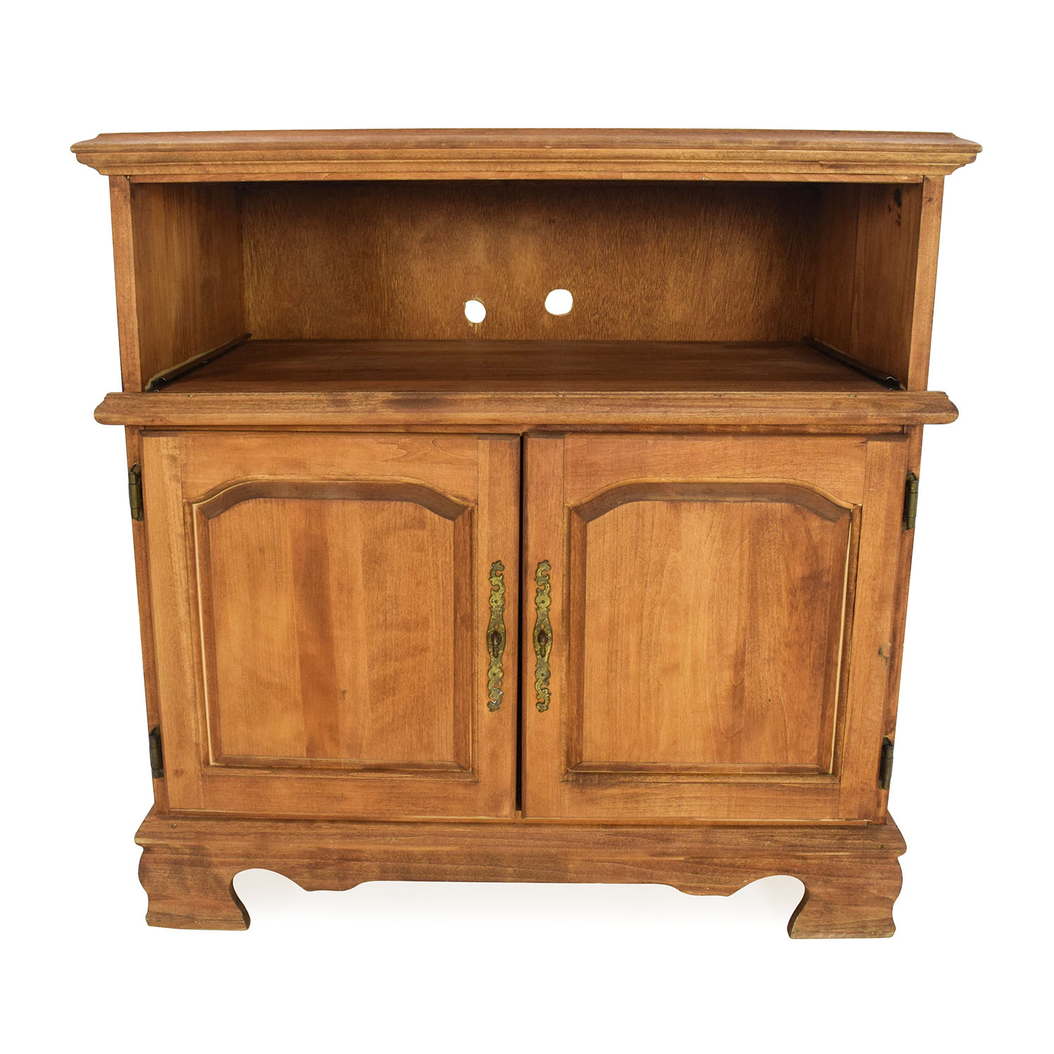 Solid Wood Console Table Cabinets & Sideboards