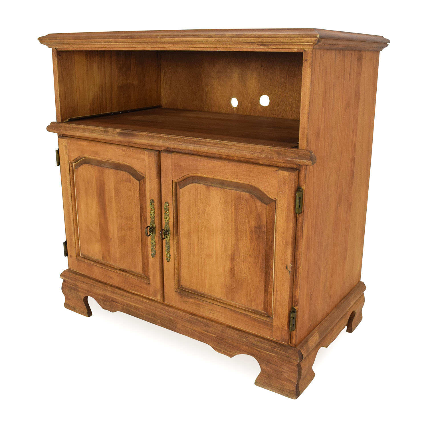 Solid Wood Console Tables With Storage ~ Off solid wood console table storage