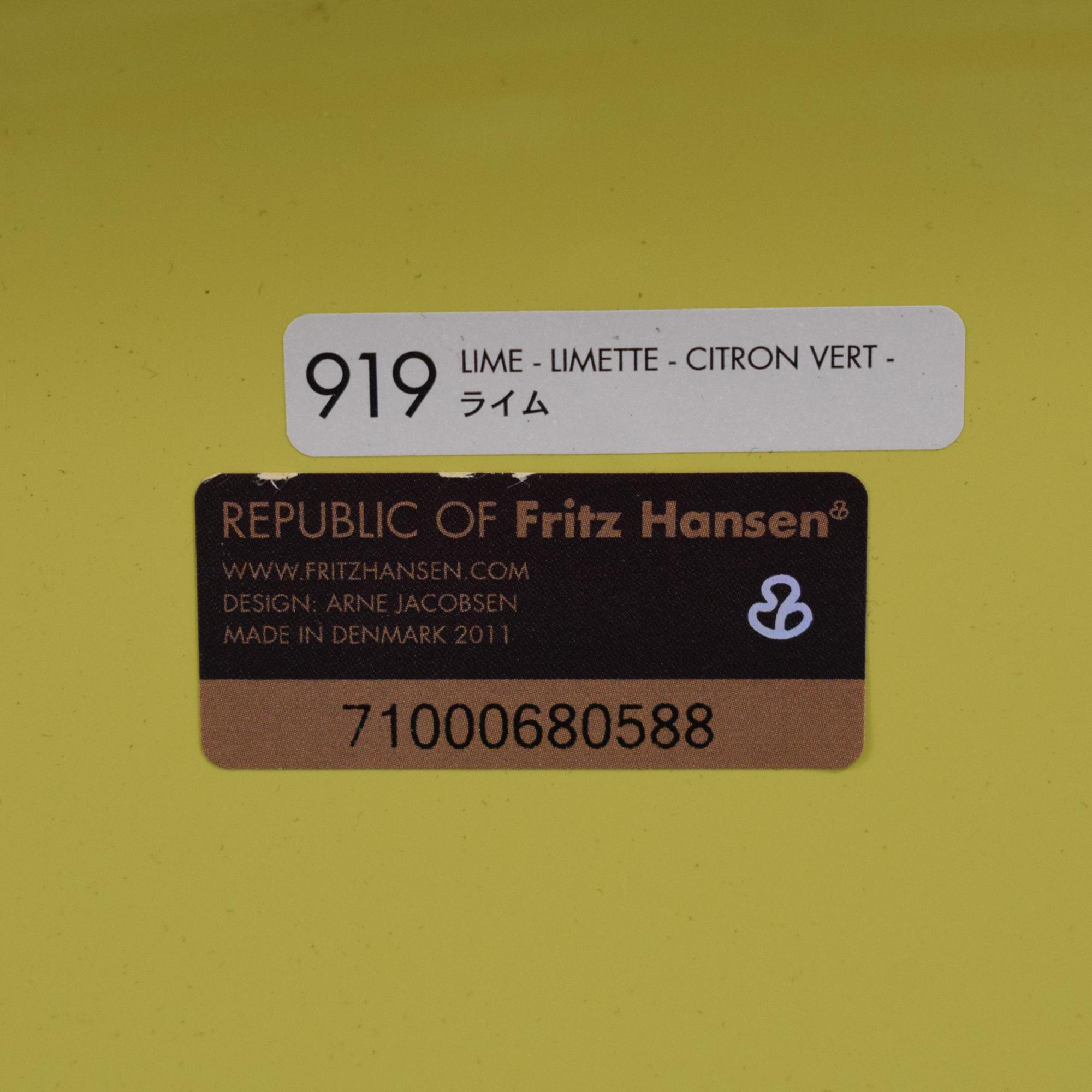 Arne Jacobsen for Fritz Hansen Series 7 Stools sale