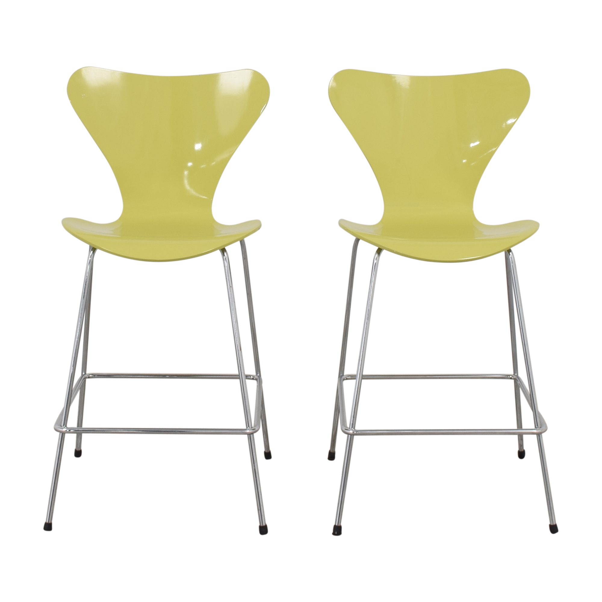 buy Arne Jacobsen for Fritz Hansen Series 7 Stools Fritz Hansen Chairs