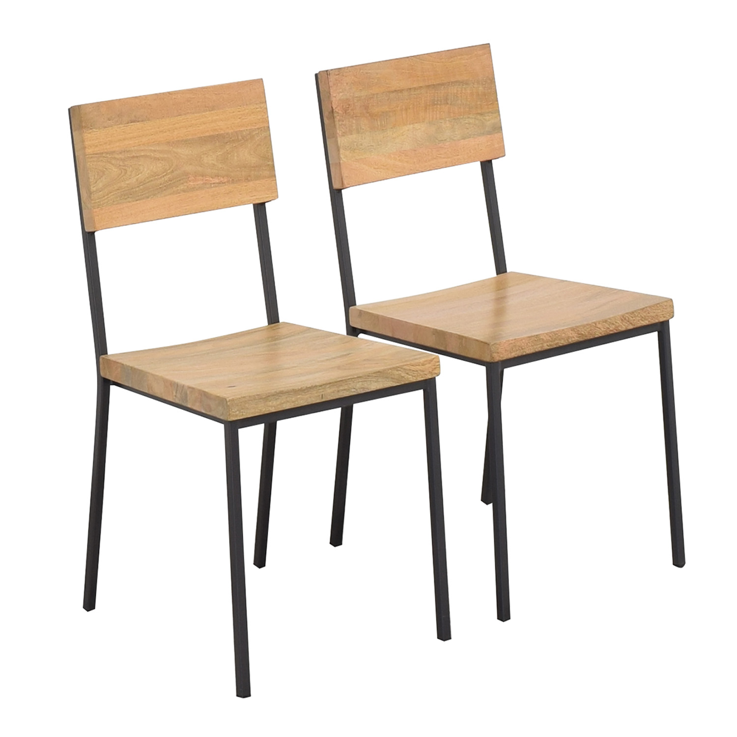 buy West Elm Rustic Dining Chairs West Elm Dining Chairs