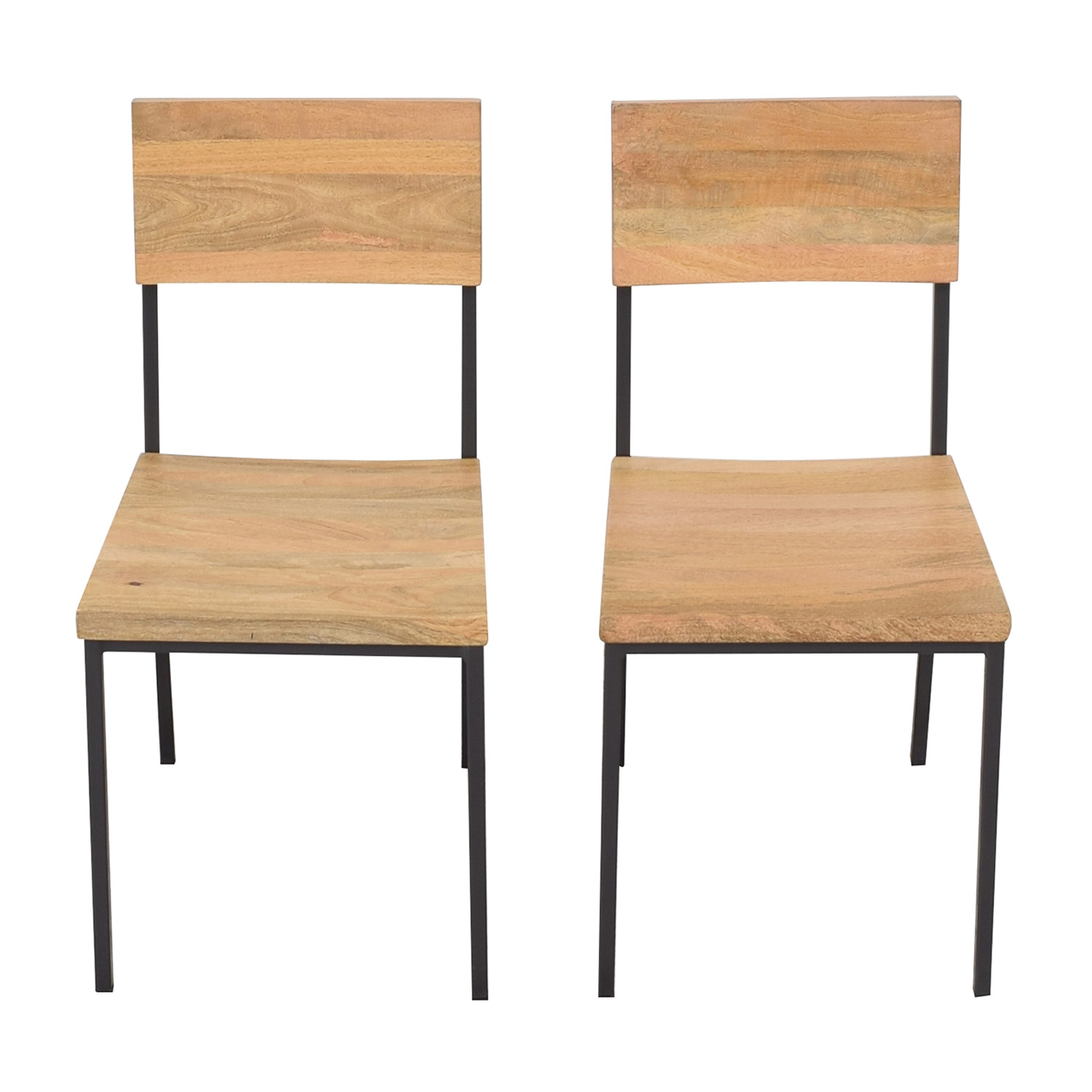 West Elm West Elm Rustic Dining Chairs Chairs
