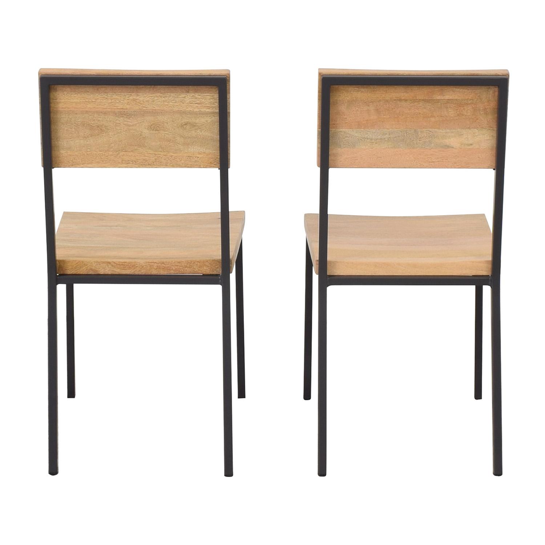 shop West Elm West Elm Rustic Dining Chairs online