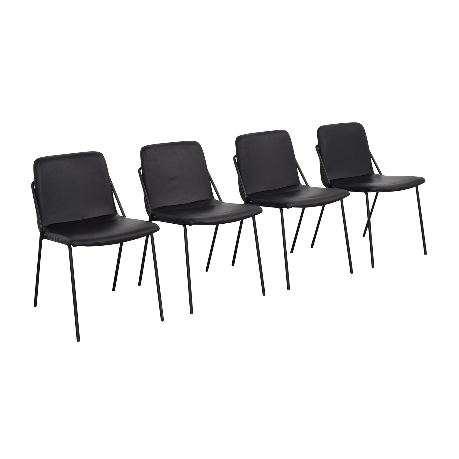 buy m.a.d. Black Sling Upholstered Chairs m.a.d. Chairs
