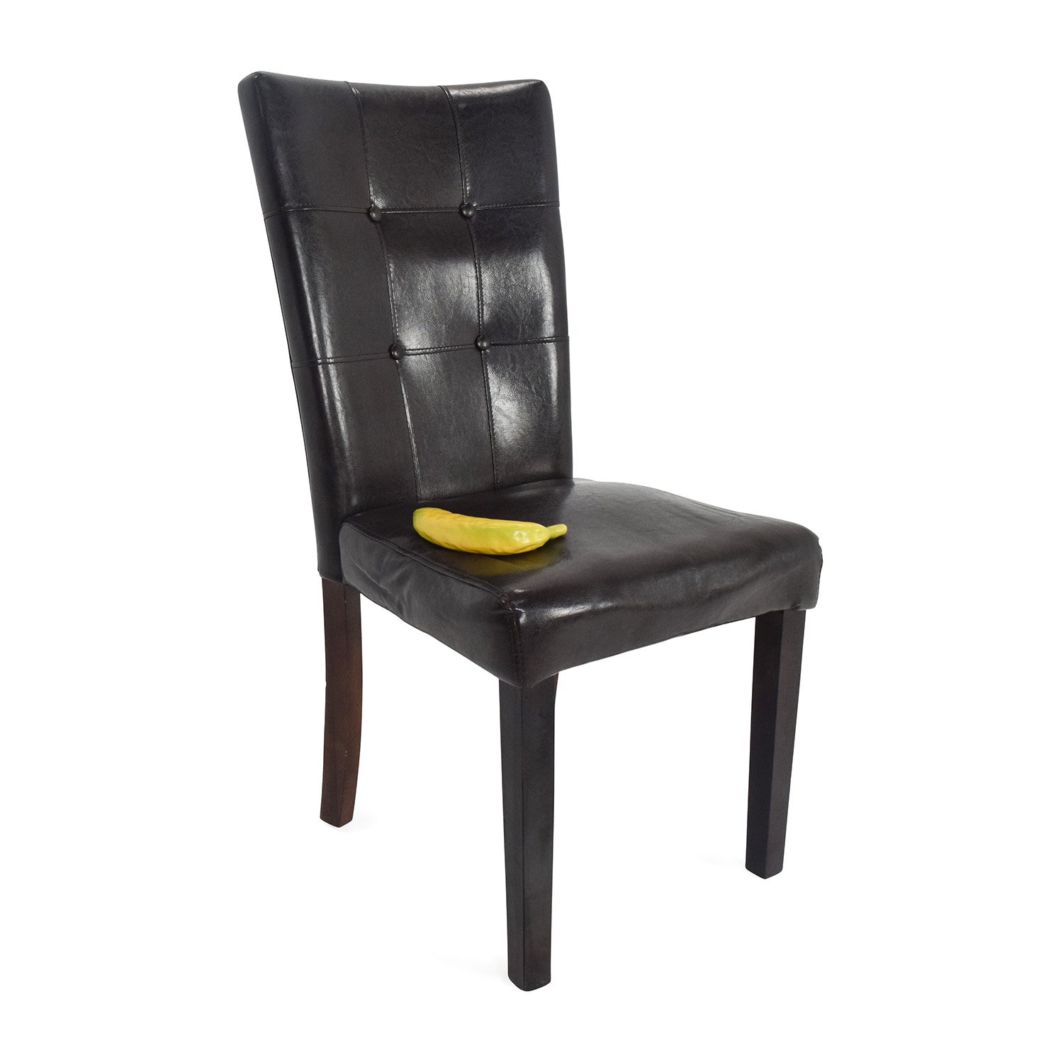 Enjoyable 49 Off Kirklands Leather Accent Chair Chairs Pabps2019 Chair Design Images Pabps2019Com