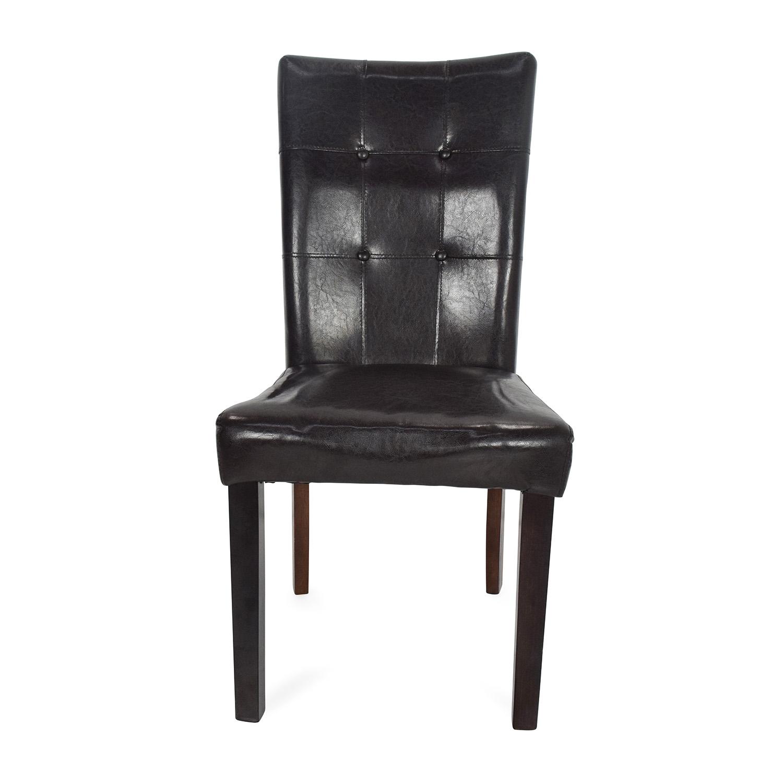 buy Kirklands Kirklands Leather Accent Chair online