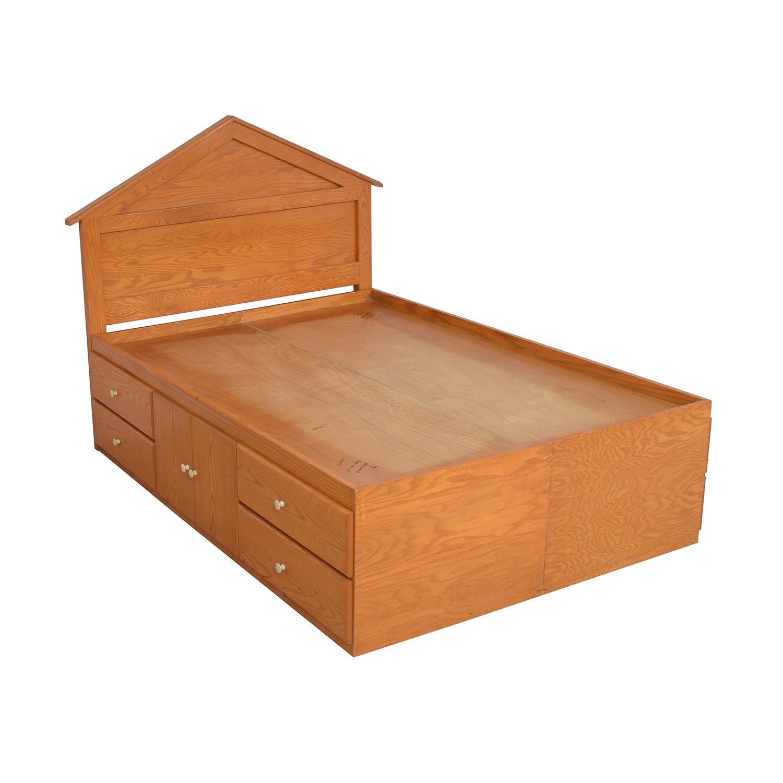 Gothic Cabinet Craft Oak Storage Bed Gothic Cabinet Craft